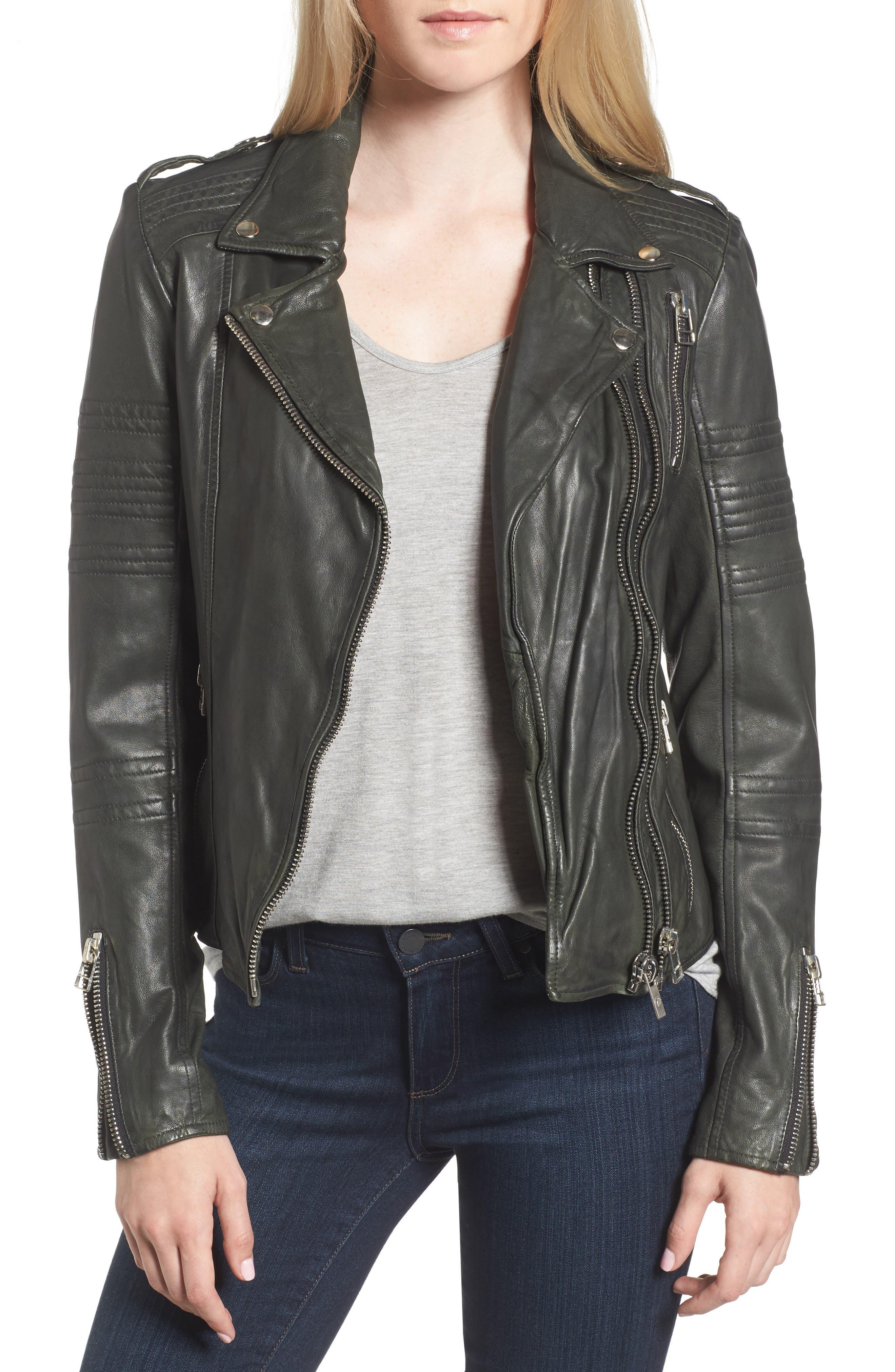 Double Zip Moto Jacket,                         Main,                         color,