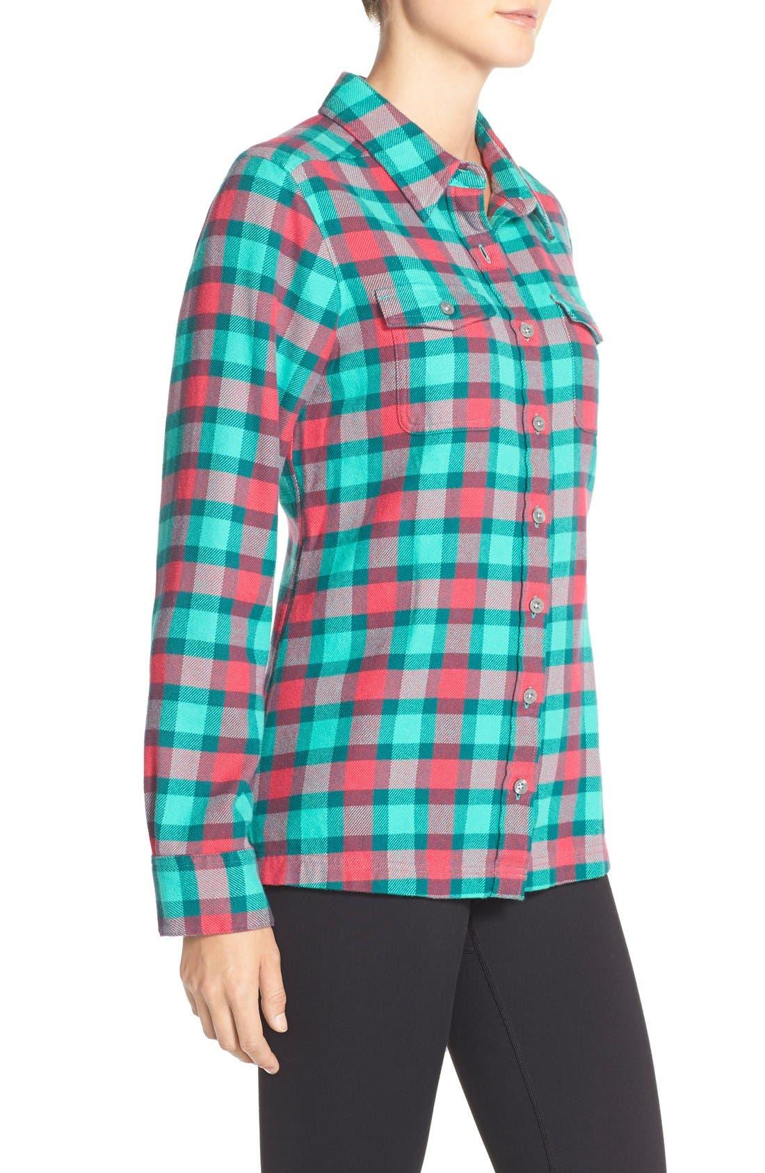 'Fjord' Flannel Shirt,                             Alternate thumbnail 36, color,