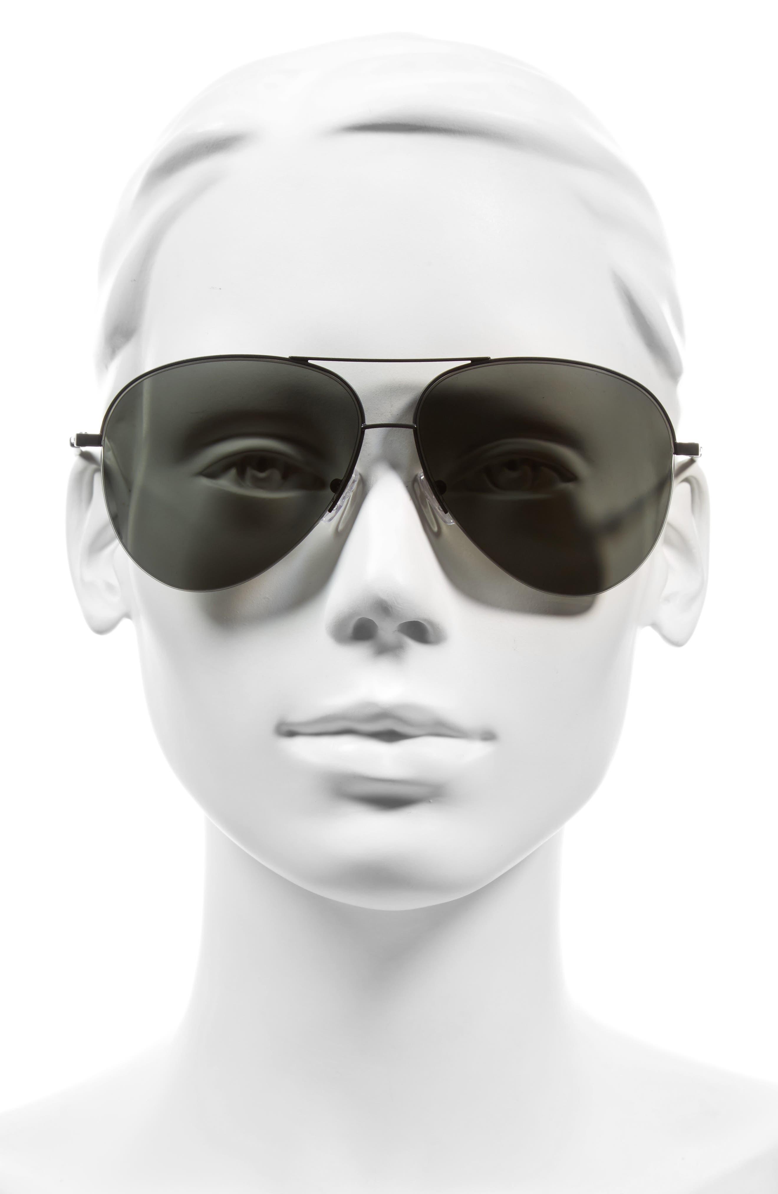 Classic Victoria 62mm Sunglasses,                             Alternate thumbnail 2, color,                             001