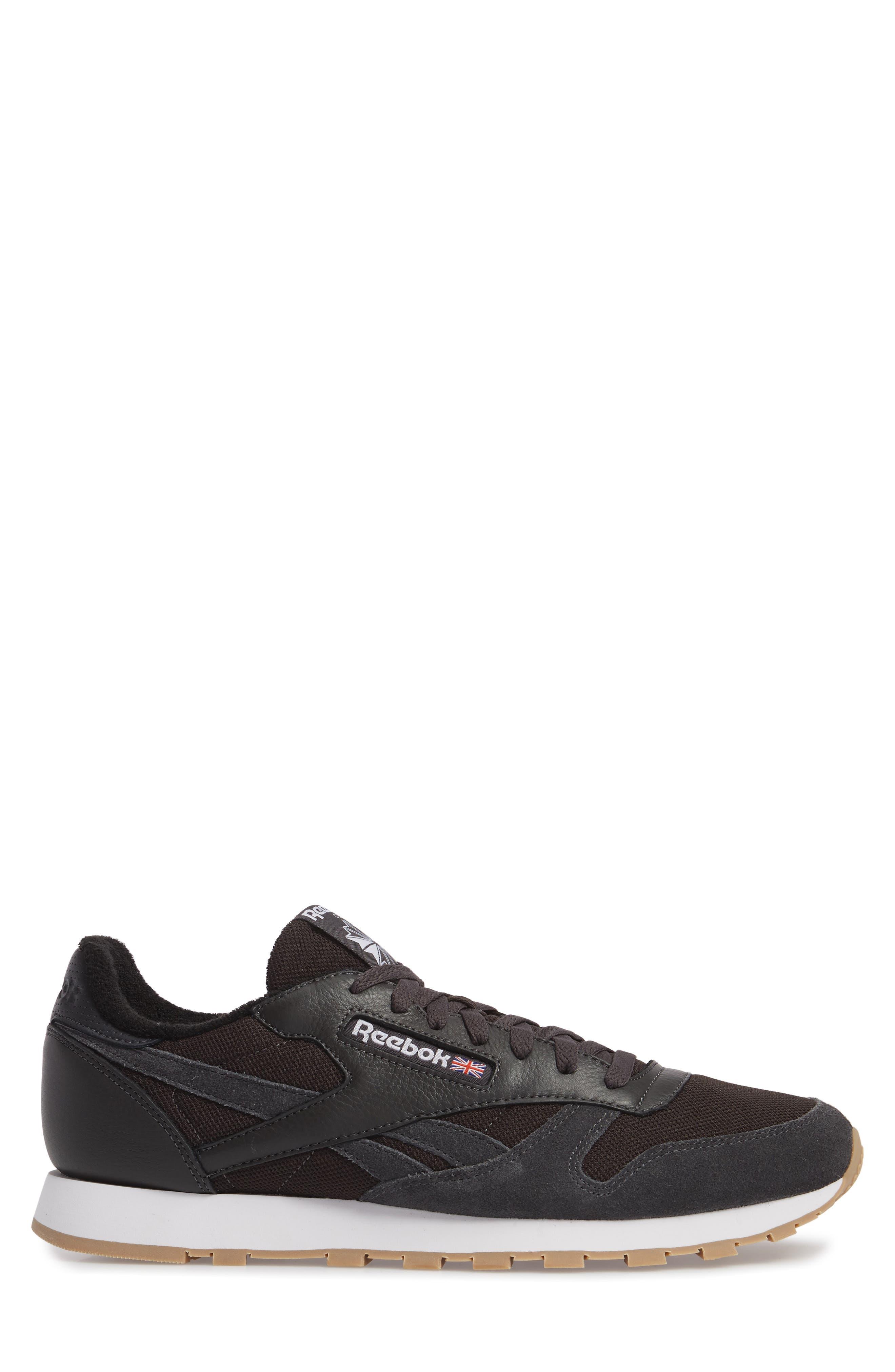 ESTL Classic Leather Sneaker,                             Alternate thumbnail 3, color,                             001