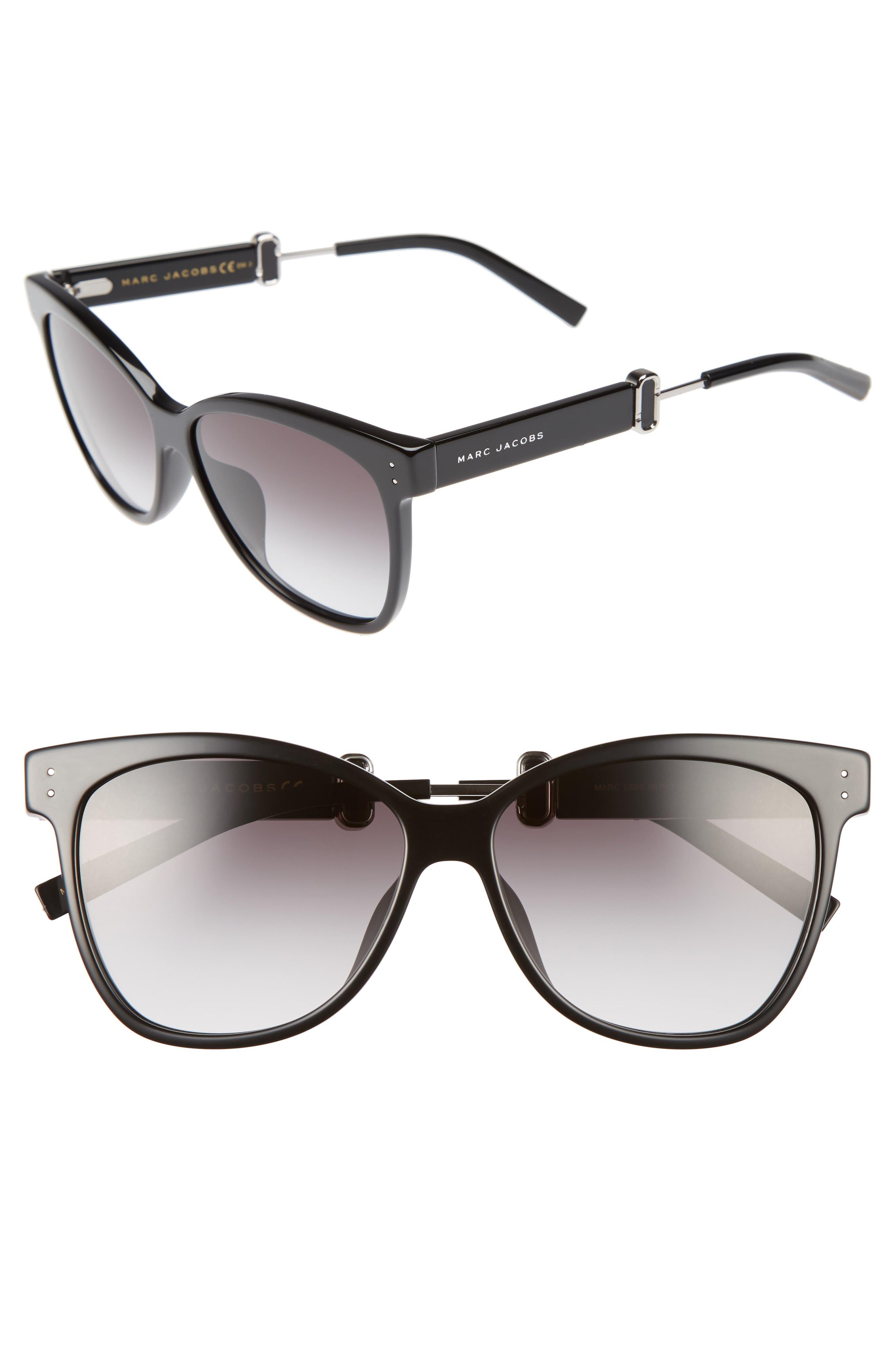 55mm Sunglasses,                             Main thumbnail 1, color,