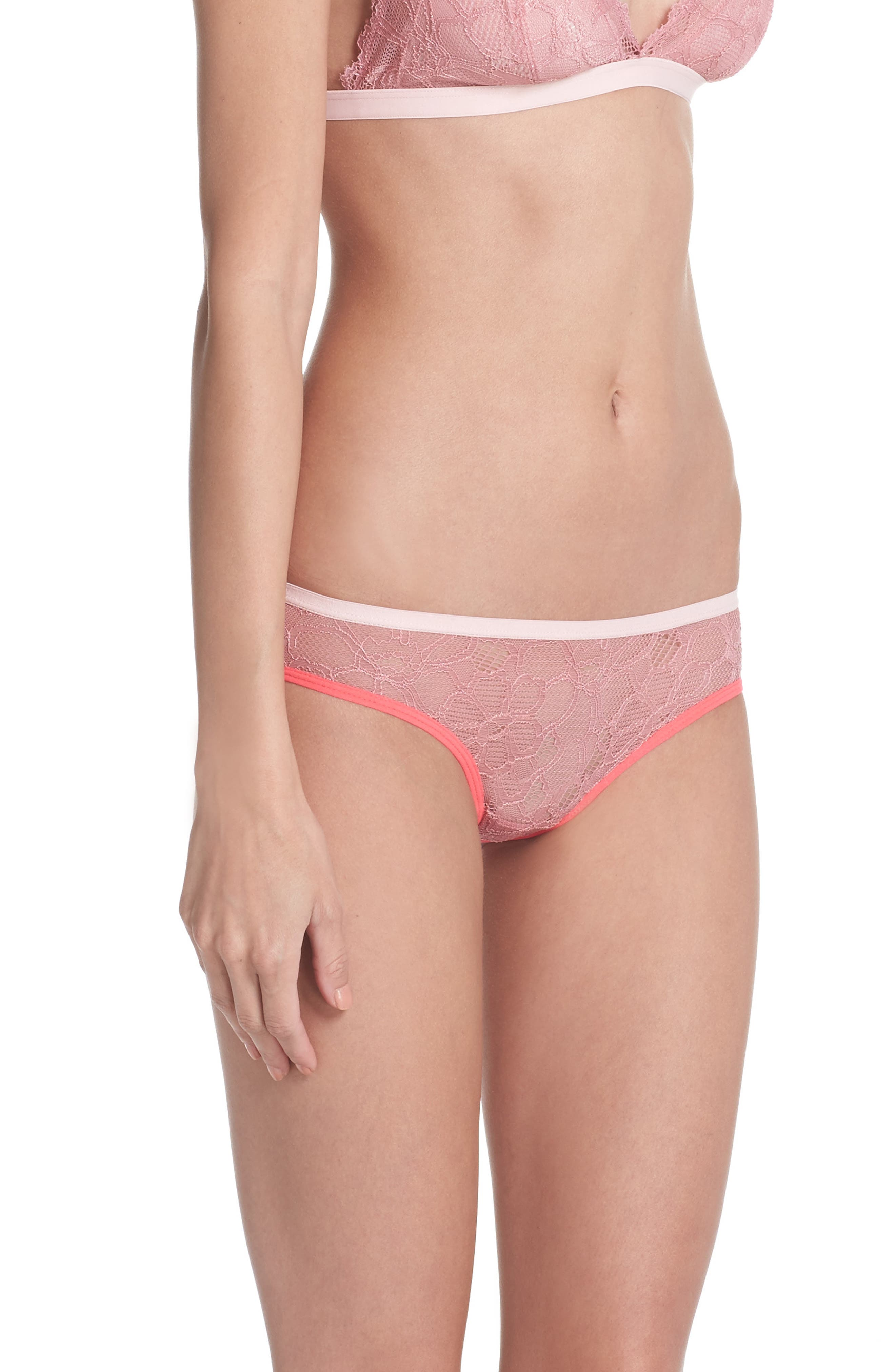 Lace Hipster Panties,                             Alternate thumbnail 3, color,