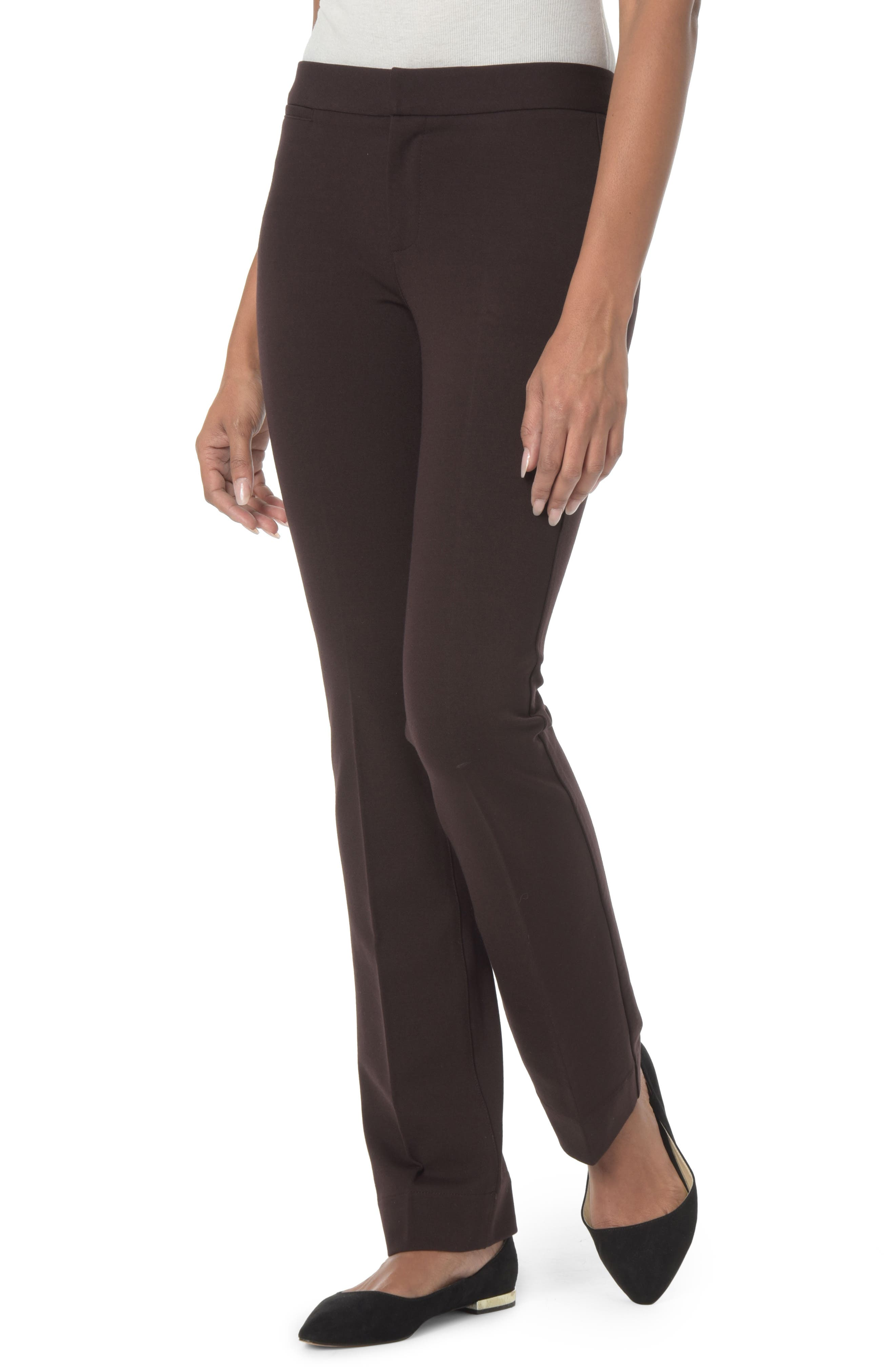 Stretch Knit Trousers,                             Main thumbnail 1, color,                             217