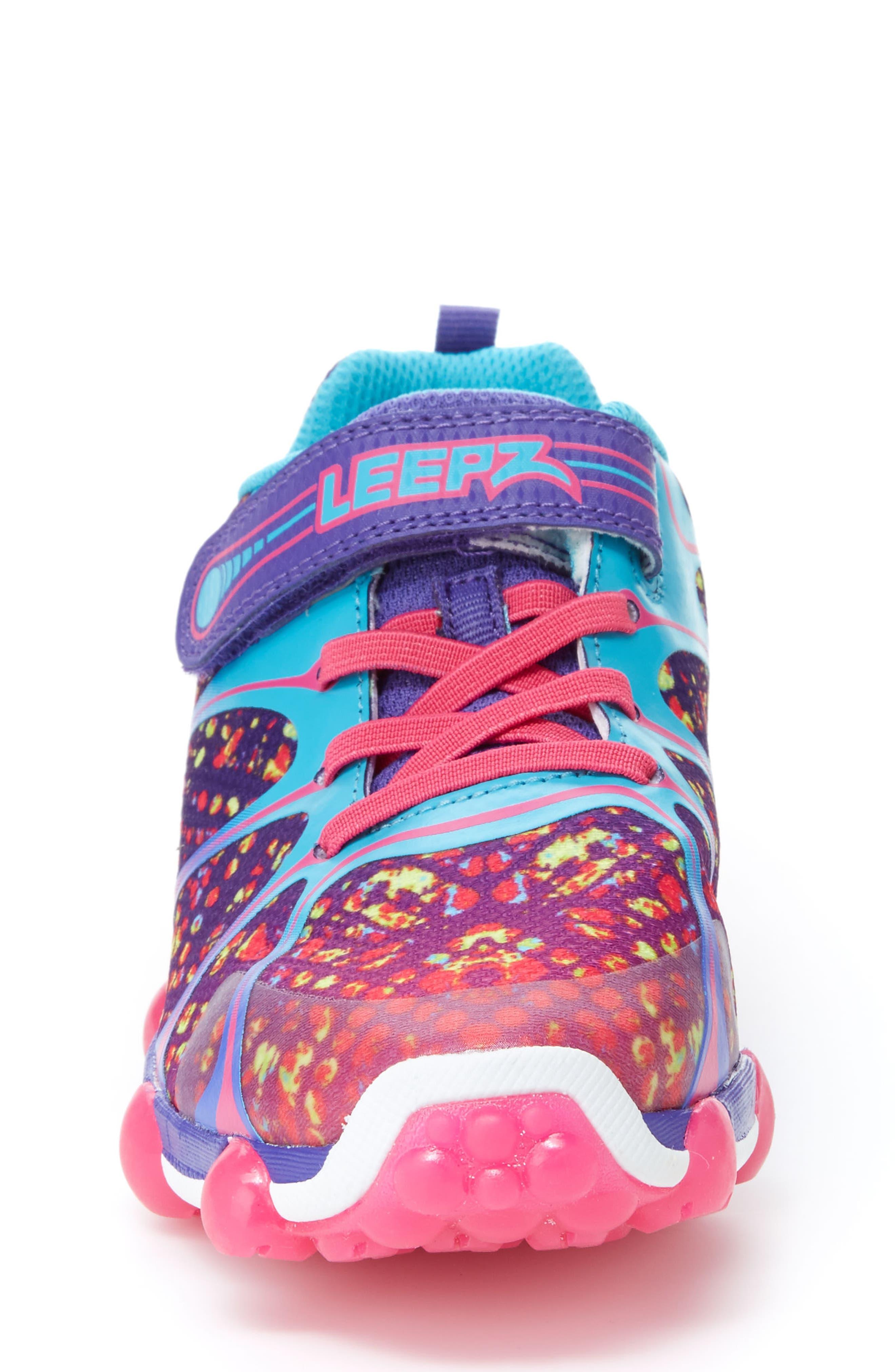 'Leepz' Light-Up Sneaker,                             Alternate thumbnail 4, color,                             540