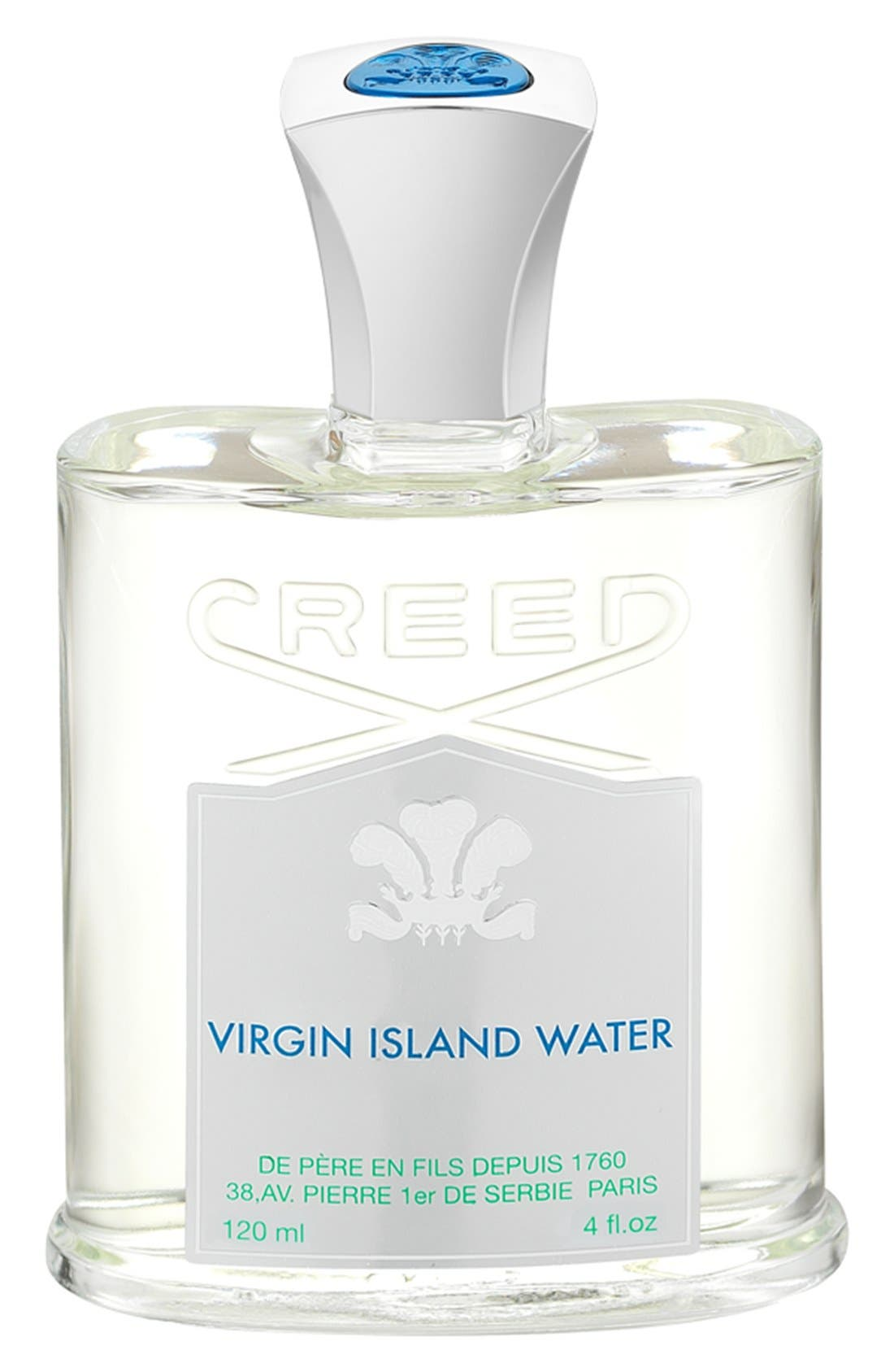 'Virgin Island Water' Fragrance,                             Main thumbnail 1, color,                             NO COLOR