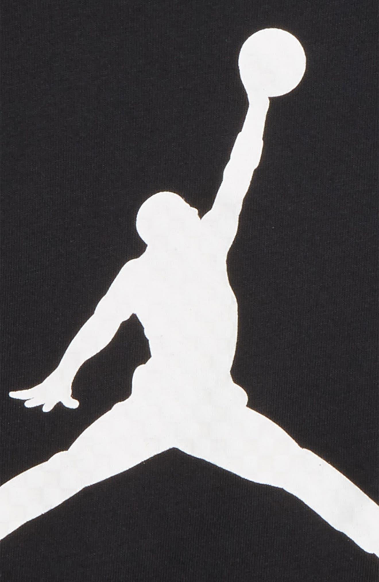 Jordan Jumpman Logo T-Shirt,                             Alternate thumbnail 2, color,                             004