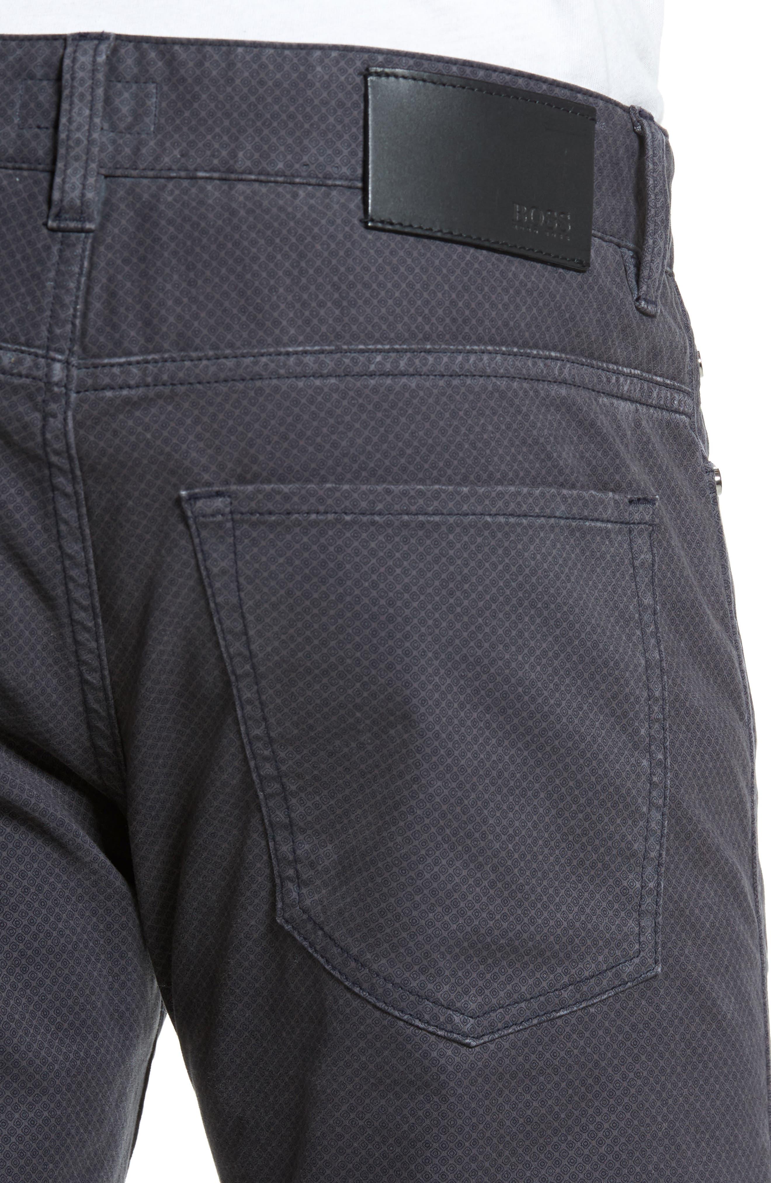 Delaware Slim Fit Pants,                             Alternate thumbnail 5, color,                             022