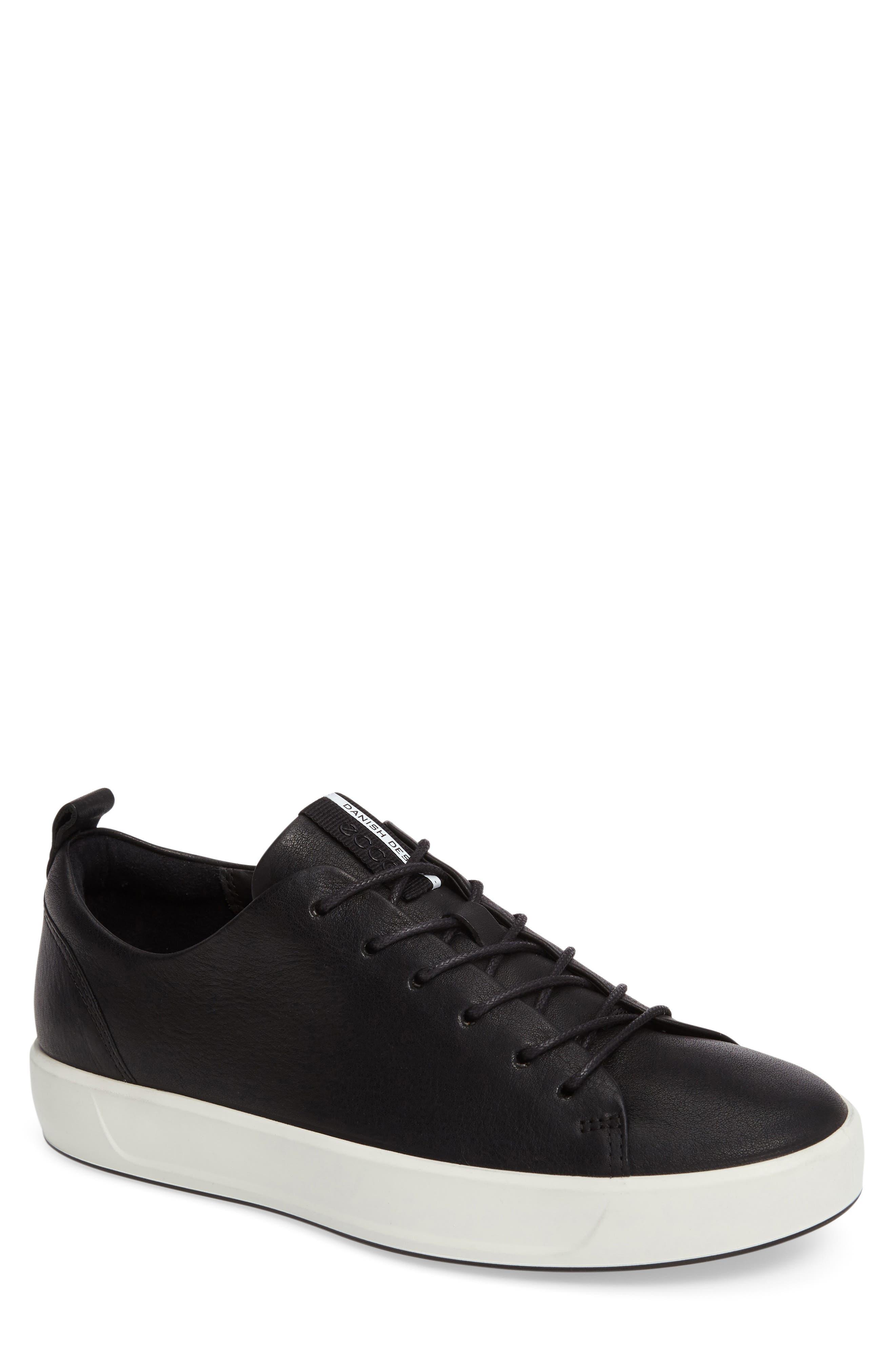 Soft 8 Sneaker,                         Main,                         color, BLACK
