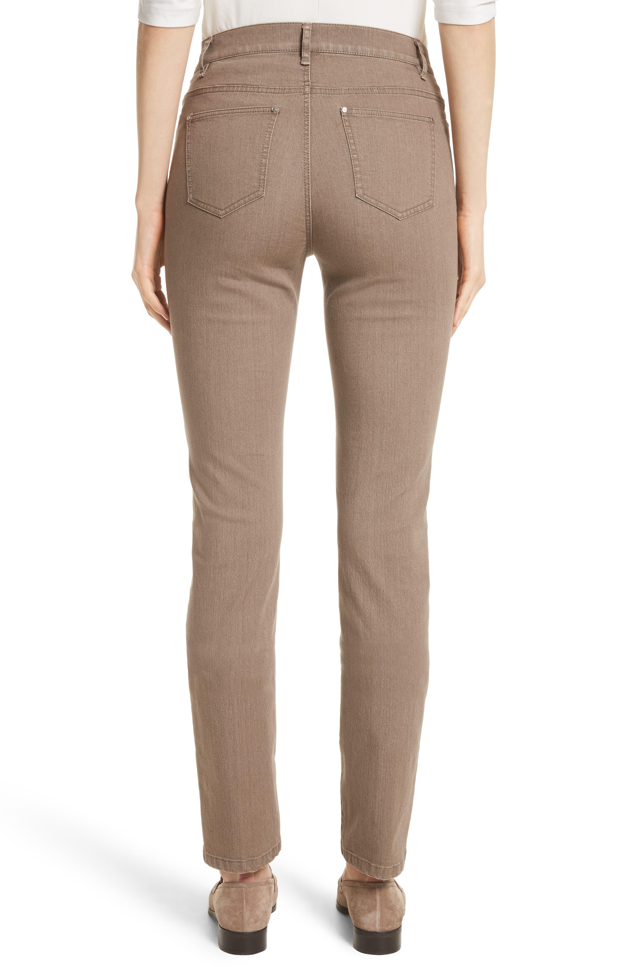 'Primo Denim' Curvy Fit Slim Leg Jeans,                             Alternate thumbnail 3, color,                             TUMBLEWEED