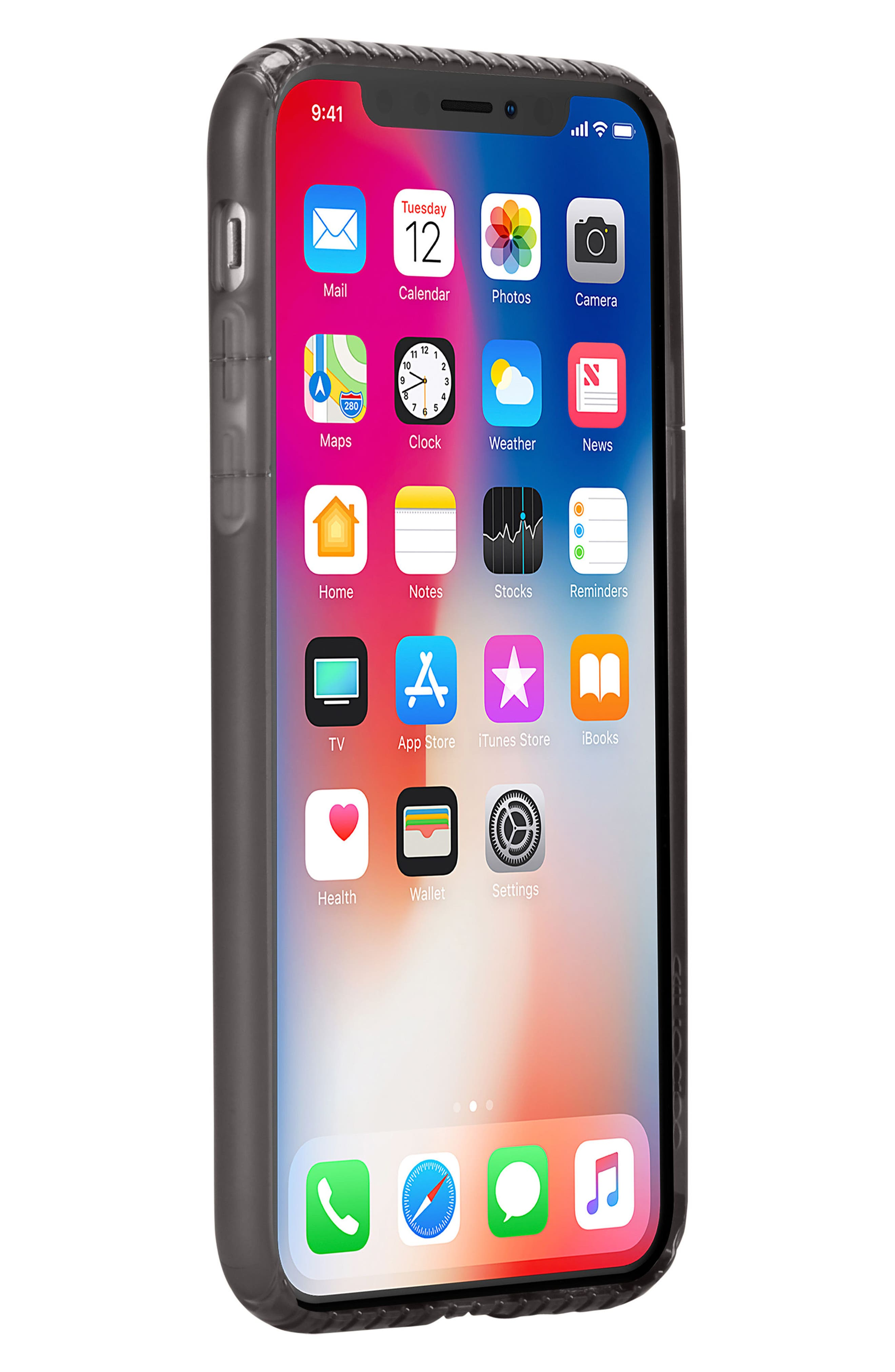 Protective iPhone X & Xs Case,                             Alternate thumbnail 2, color,                             001