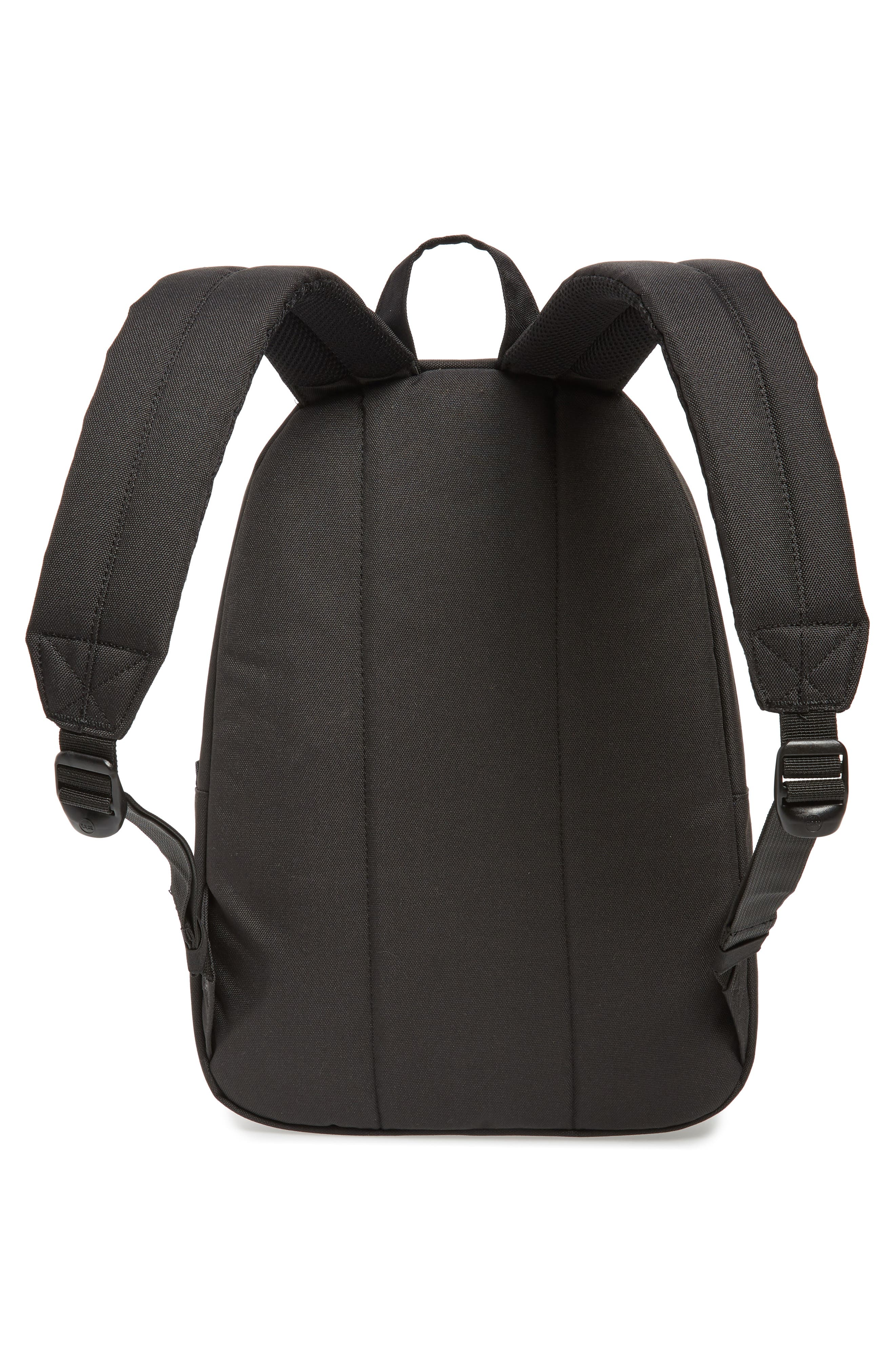 Classic Mid Volume Backpack,                             Alternate thumbnail 3, color,                             BLACK
