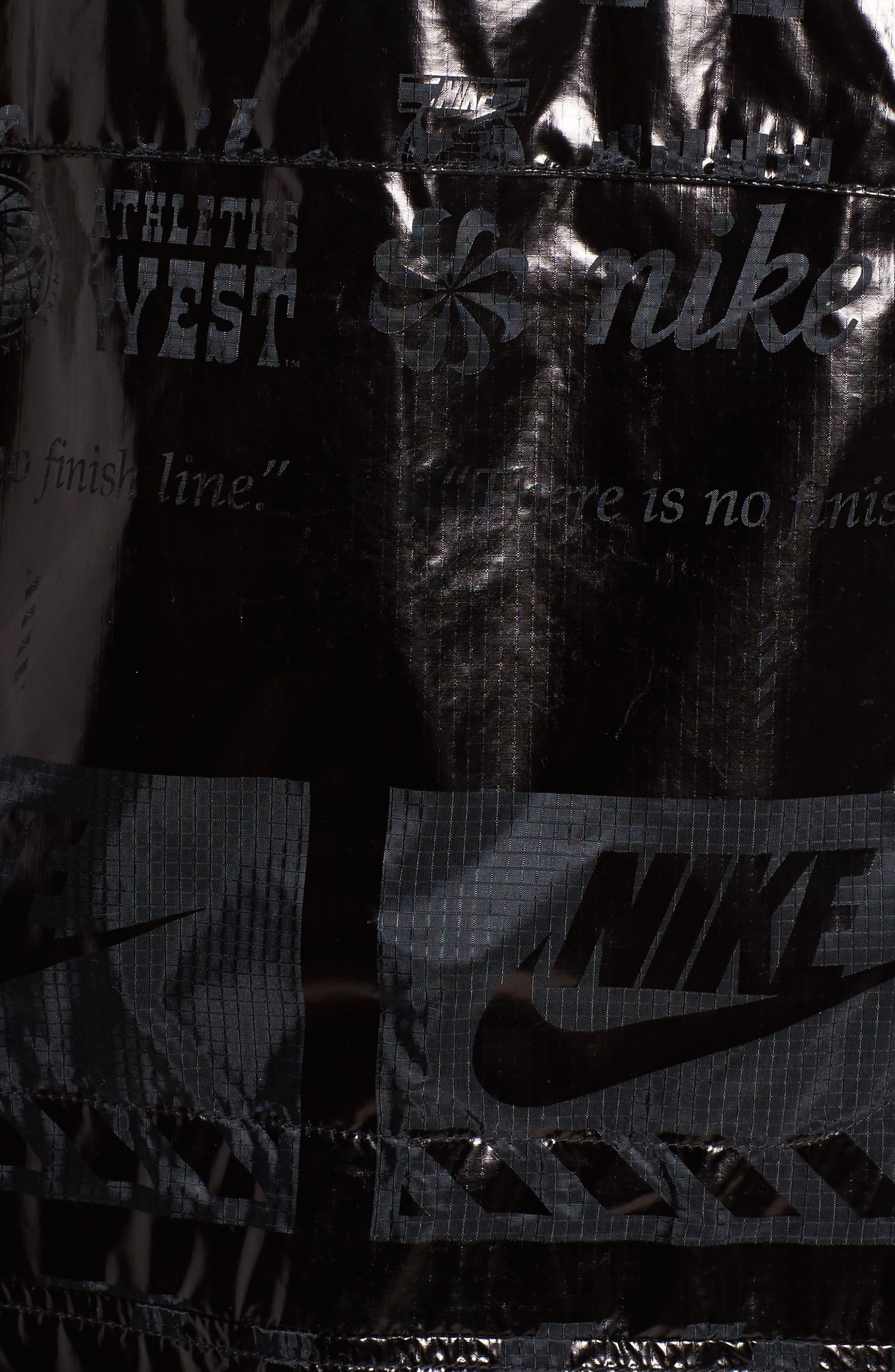 Sportswear Metallic Half Zip Jacket,                             Alternate thumbnail 14, color,
