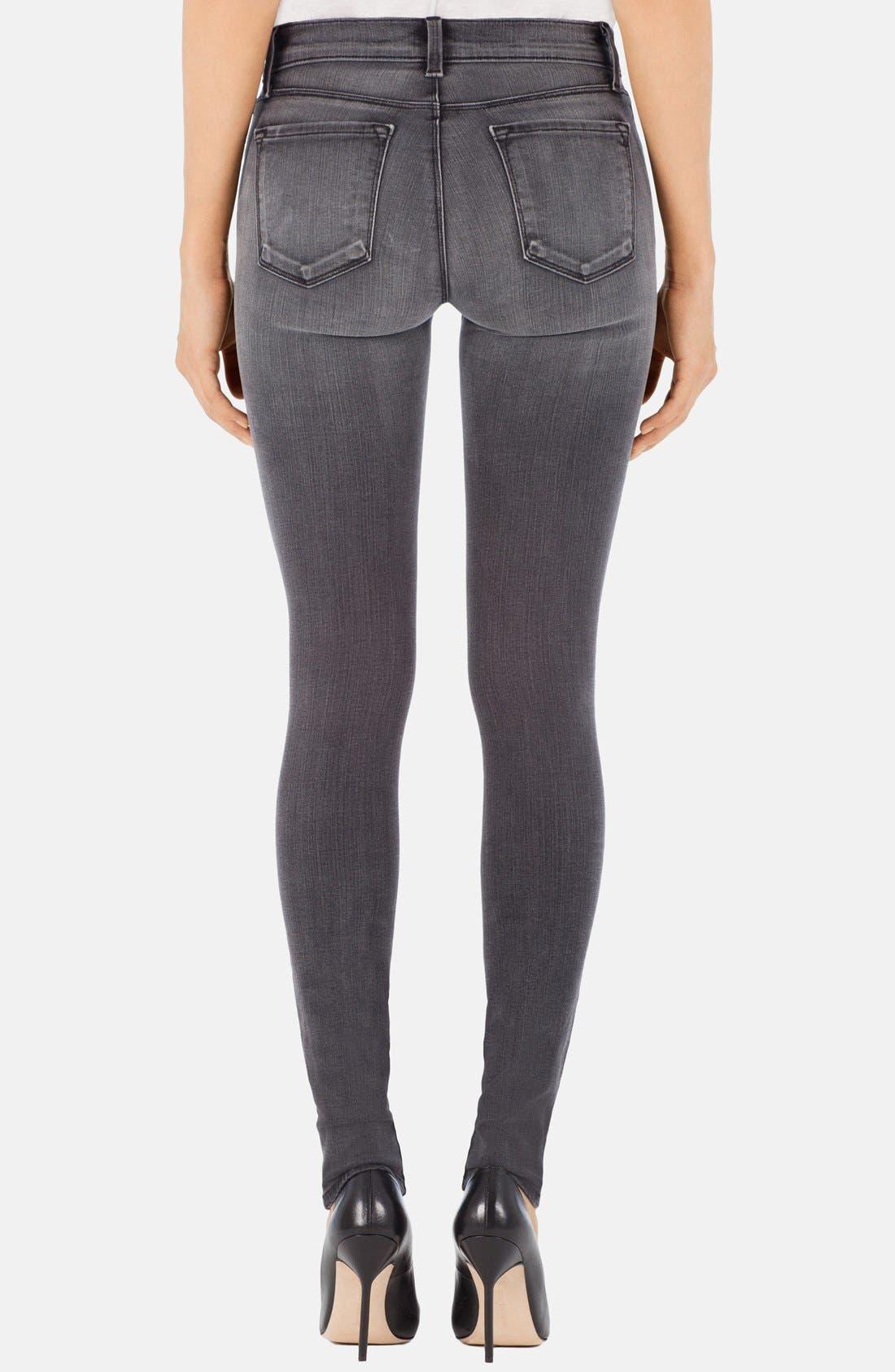 '620' Mid Rise Skinny Jeans,                             Alternate thumbnail 18, color,