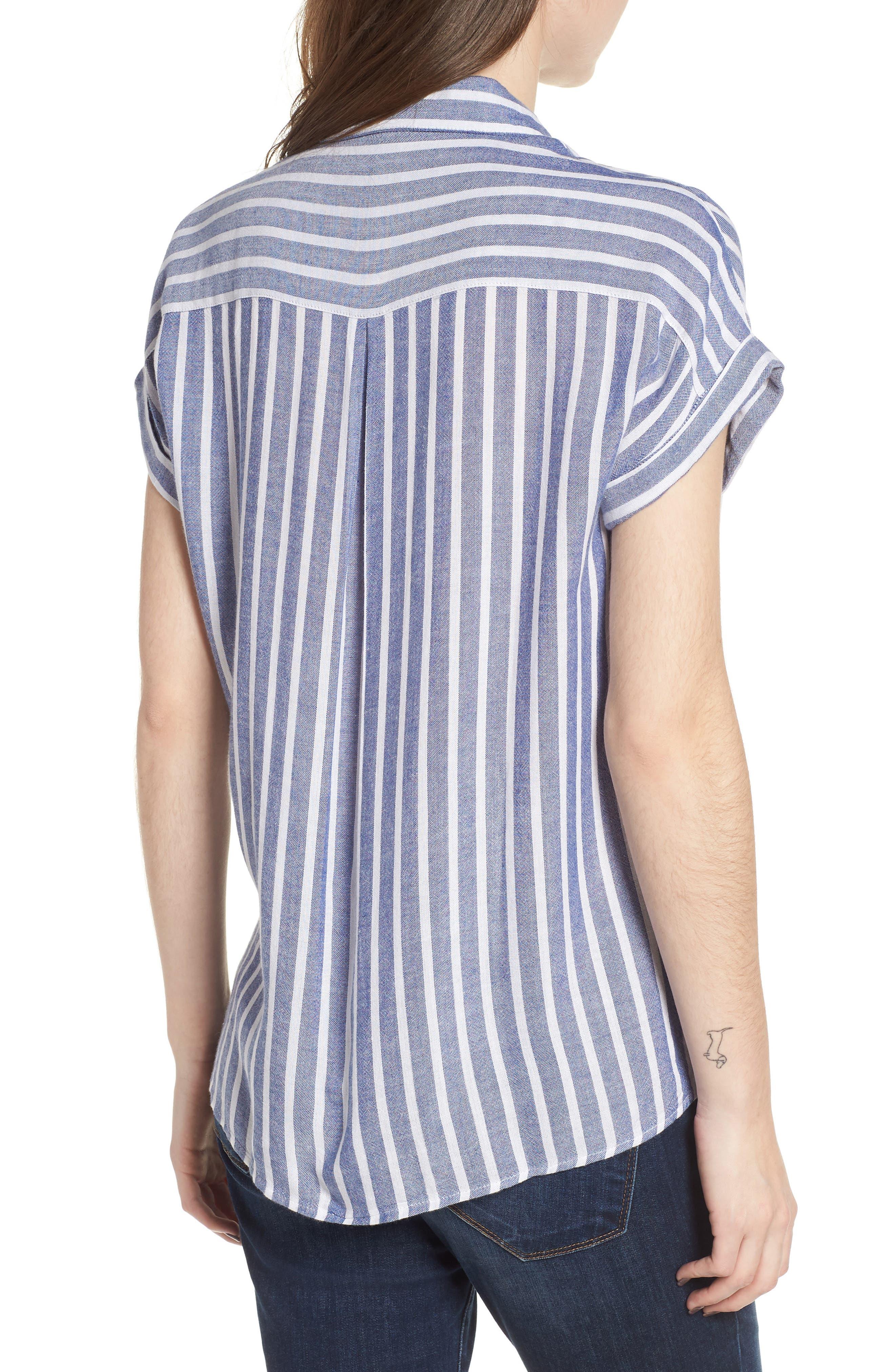 Benji Stripe Shirt,                             Alternate thumbnail 2, color,                             400