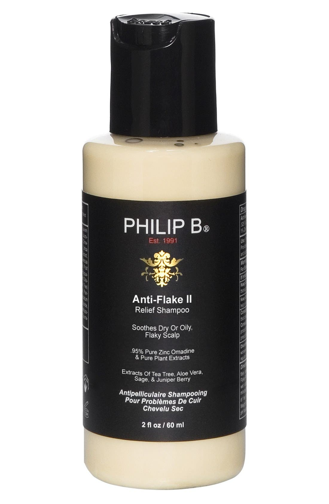 SPACE.NK.apothecary PHILLIP B<sup>®</sup> Anti-Flake Relief II Shampoo,                             Alternate thumbnail 2, color,                             NO COLOR