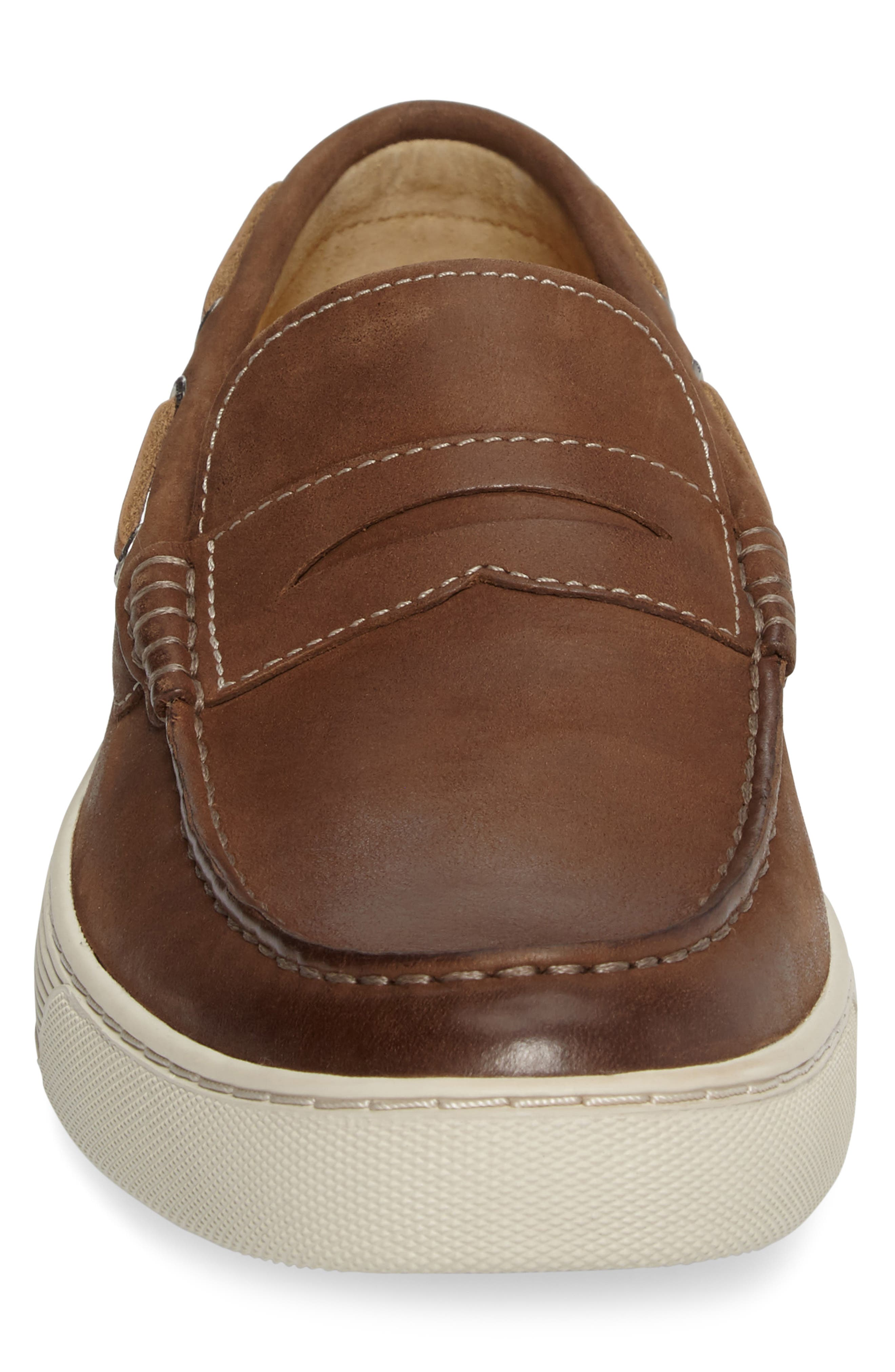 Gold Cup Penny Loafer,                             Alternate thumbnail 8, color,