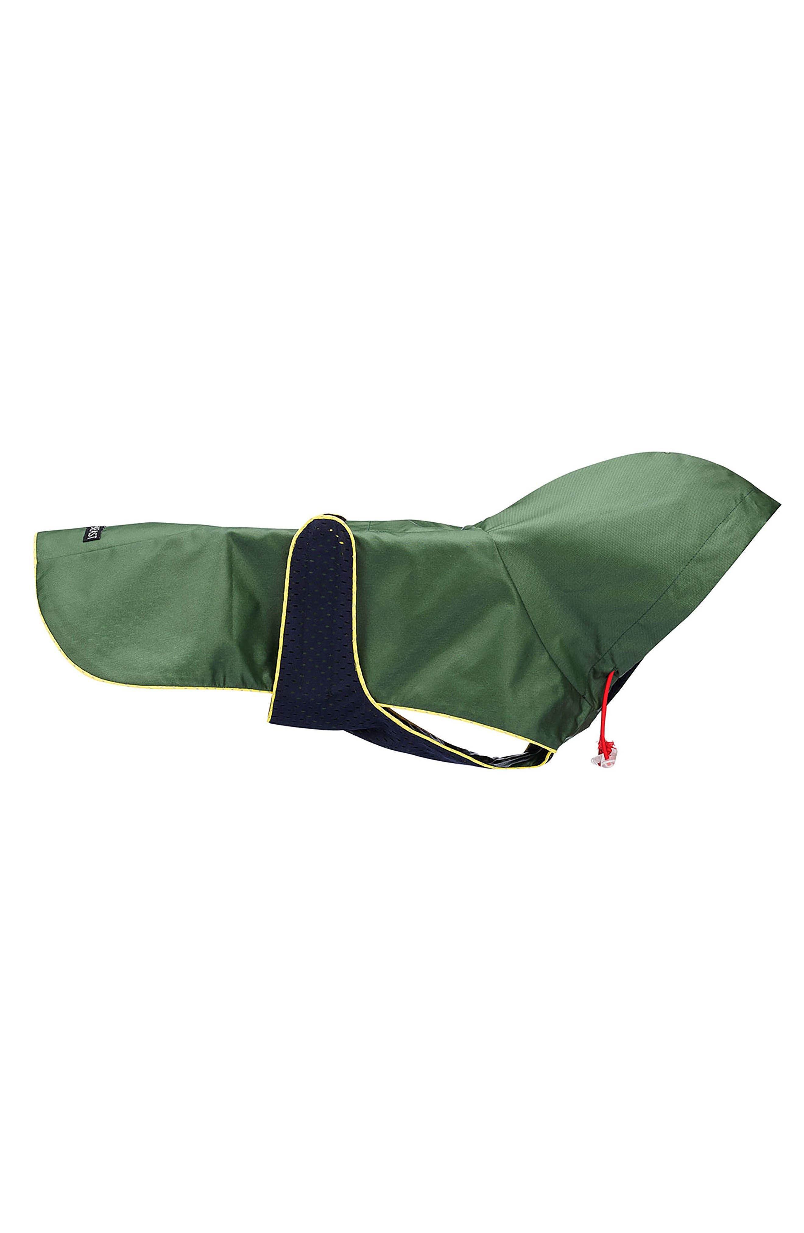 Dog Rain Jacket with Mesh Lining,                             Main thumbnail 1, color,                             300