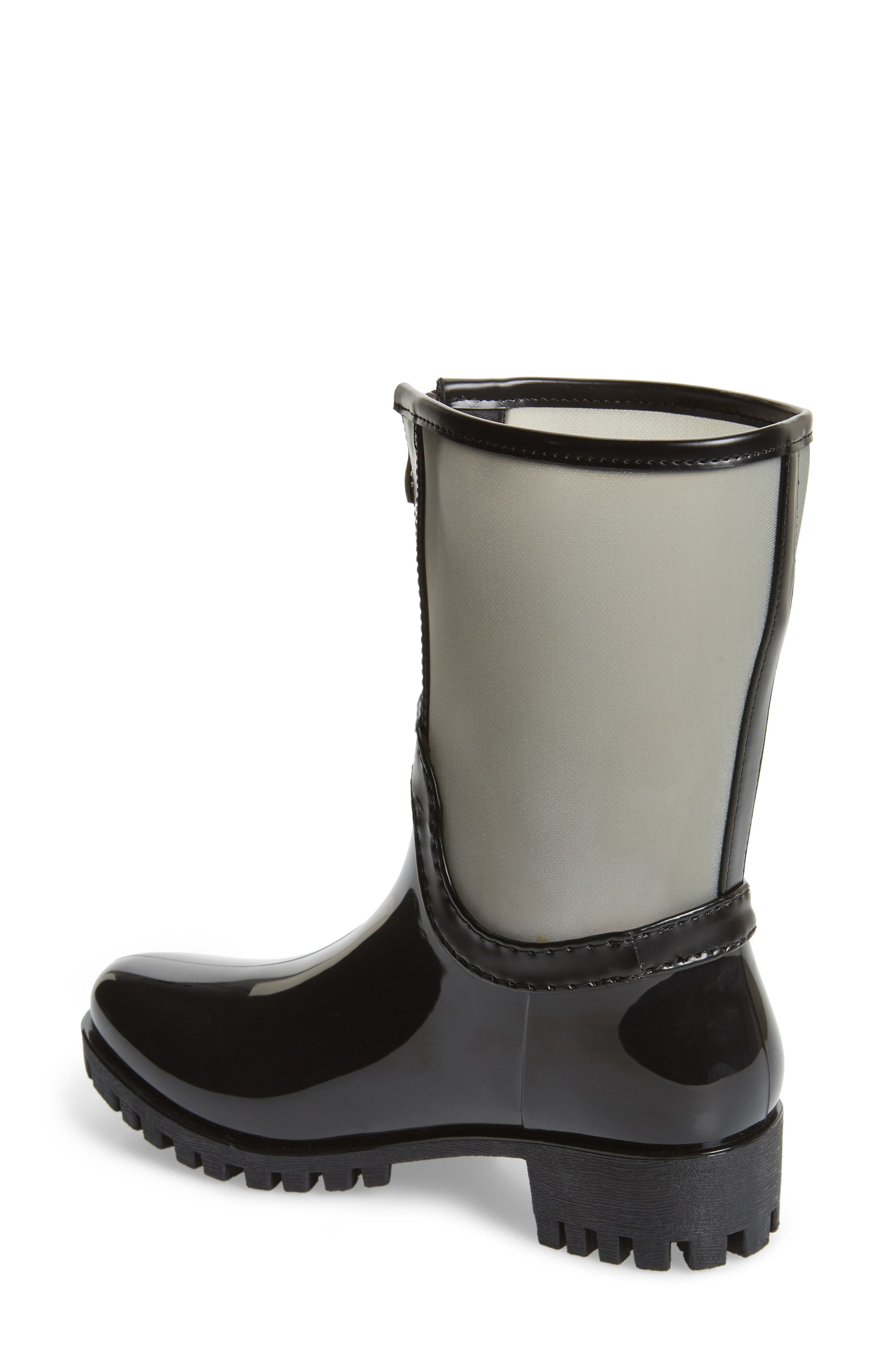 Dryden Sheer Waterproof Boot,                             Alternate thumbnail 2, color,                             GREY FABRIC