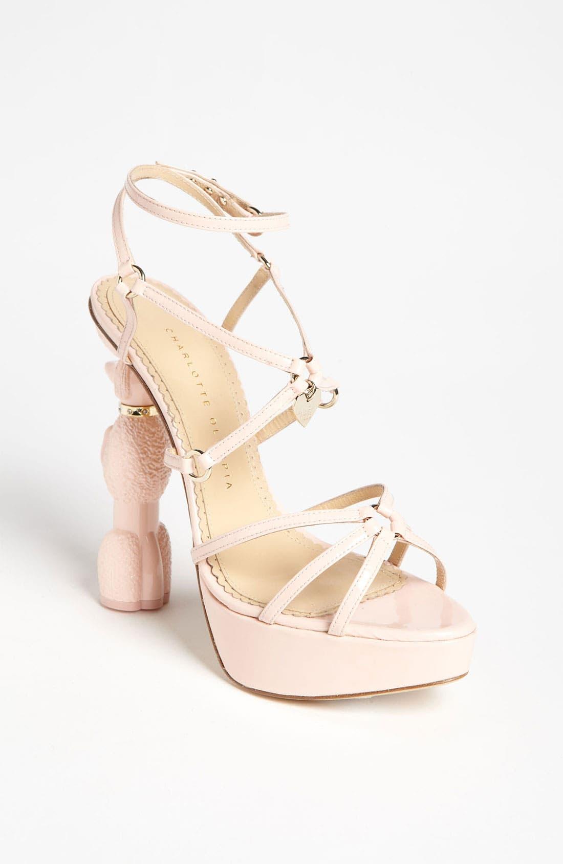 CHARLOTTE OLYMPIA 'Cherie' Sandal, Main, color, 680