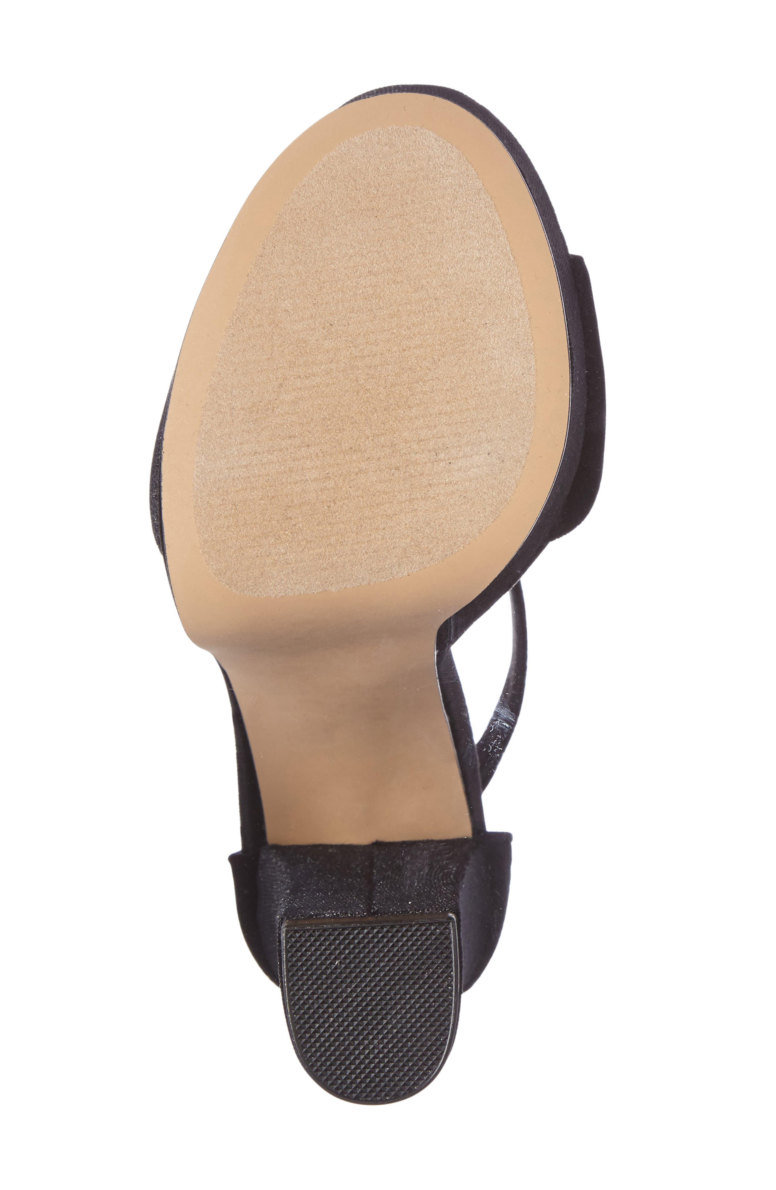 Gonzo Platform Sandal,                             Alternate thumbnail 4, color,                             001