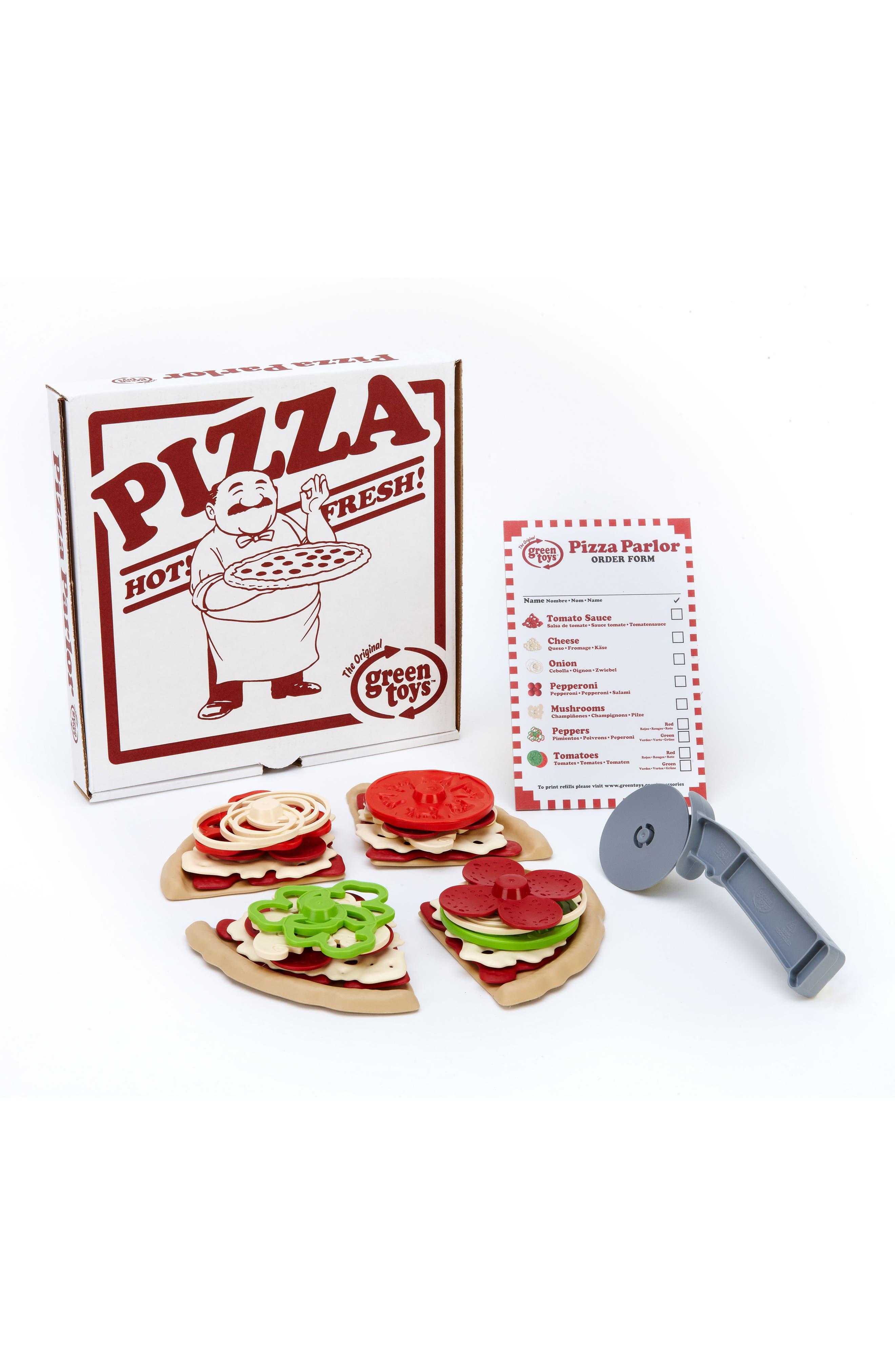 27-Piece Plastic Pizza Parlor Play Set,                             Alternate thumbnail 2, color,