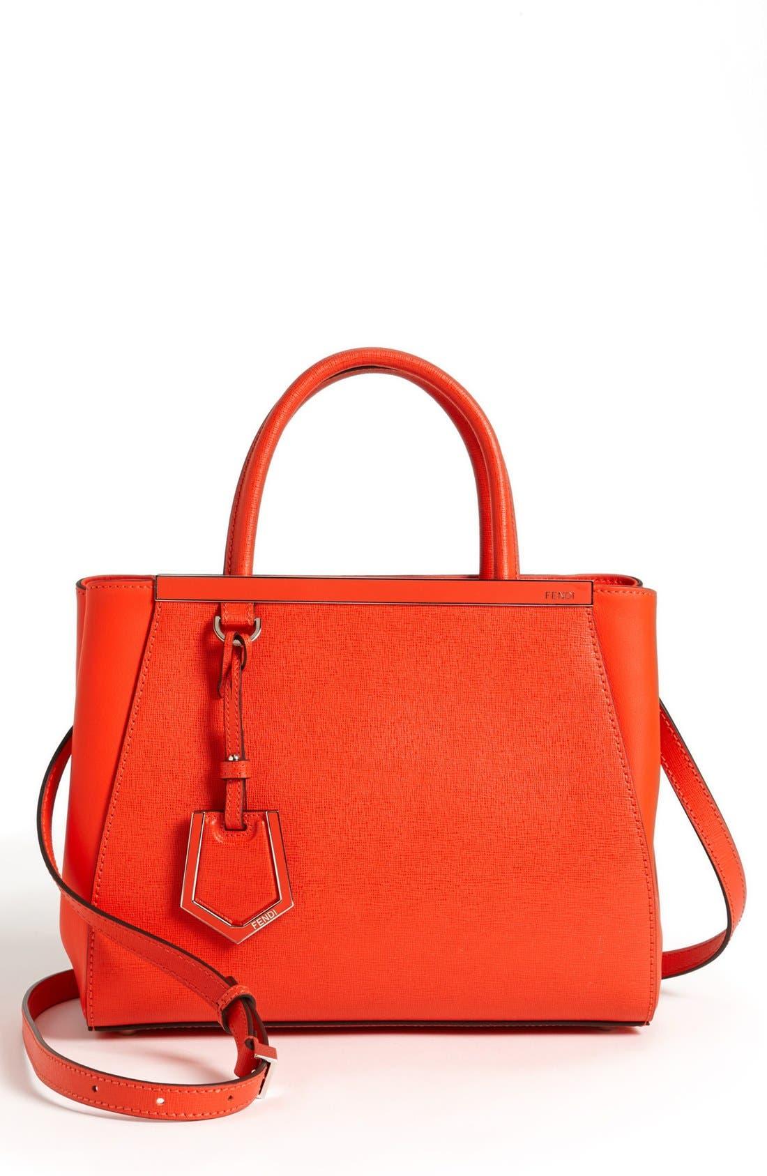 'Petite 2Jours Elite' Leather Shopper,                             Main thumbnail 16, color,