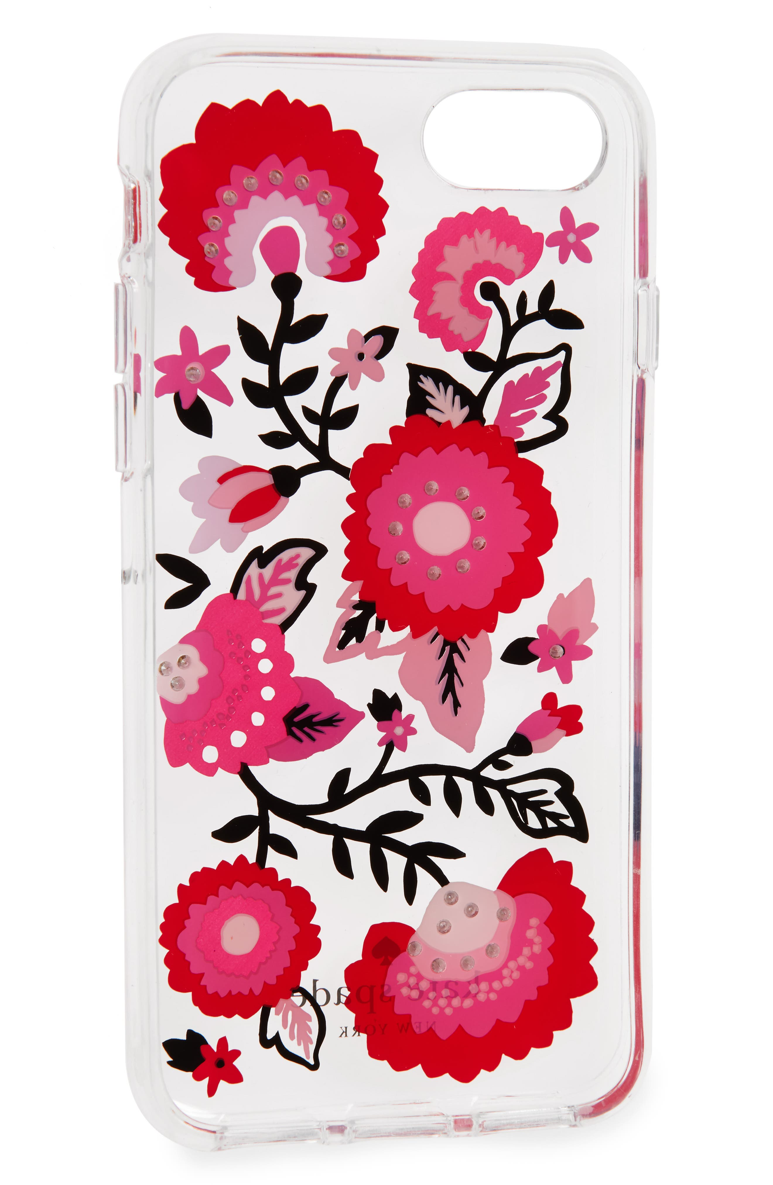 jeweled garland iPhone 7/8 & 7/8 Plus case,                             Alternate thumbnail 2, color,                             900