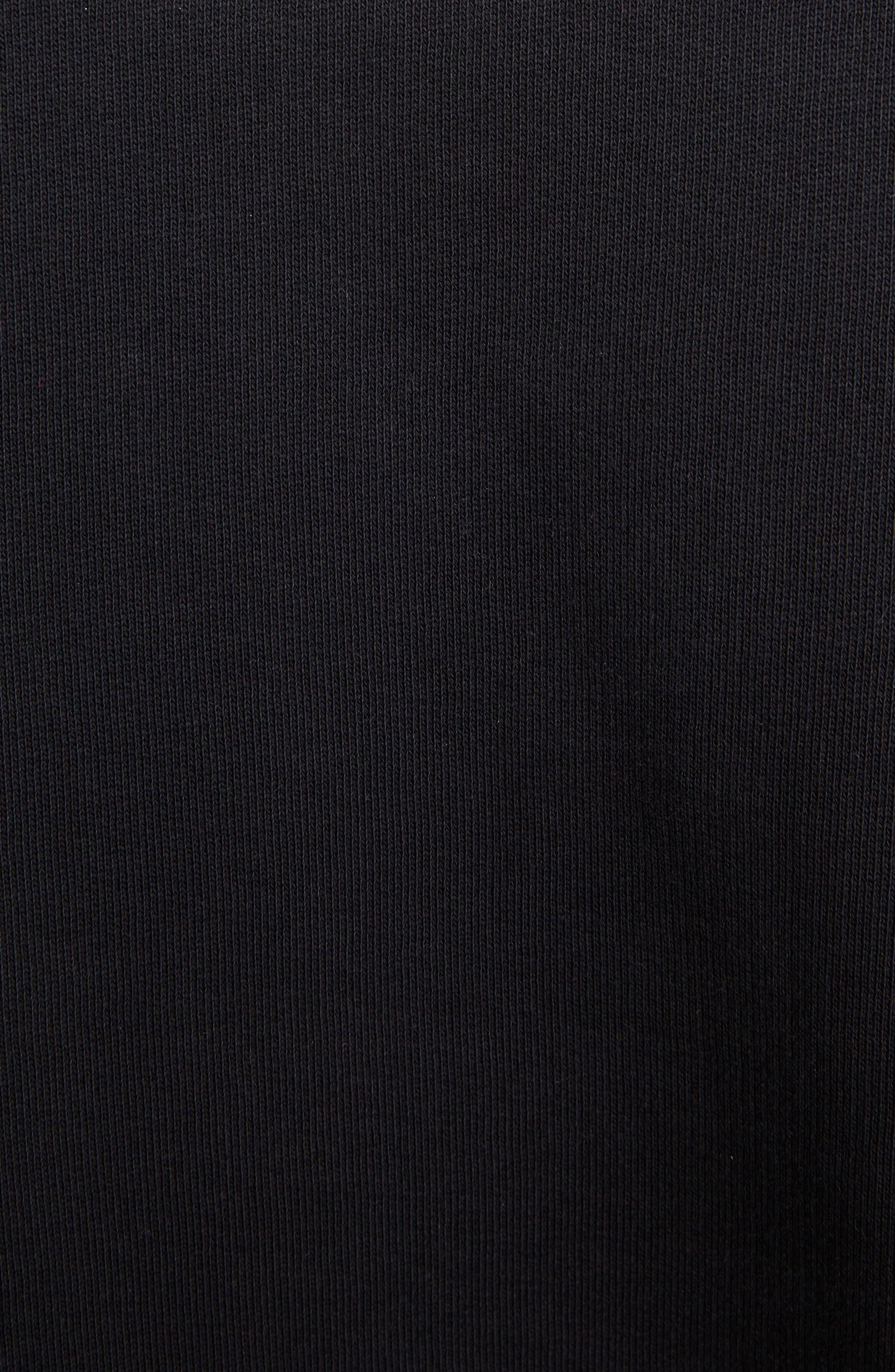 Dragon Tiger Crewneck Sweatshirt,                             Alternate thumbnail 5, color,                             BLACK