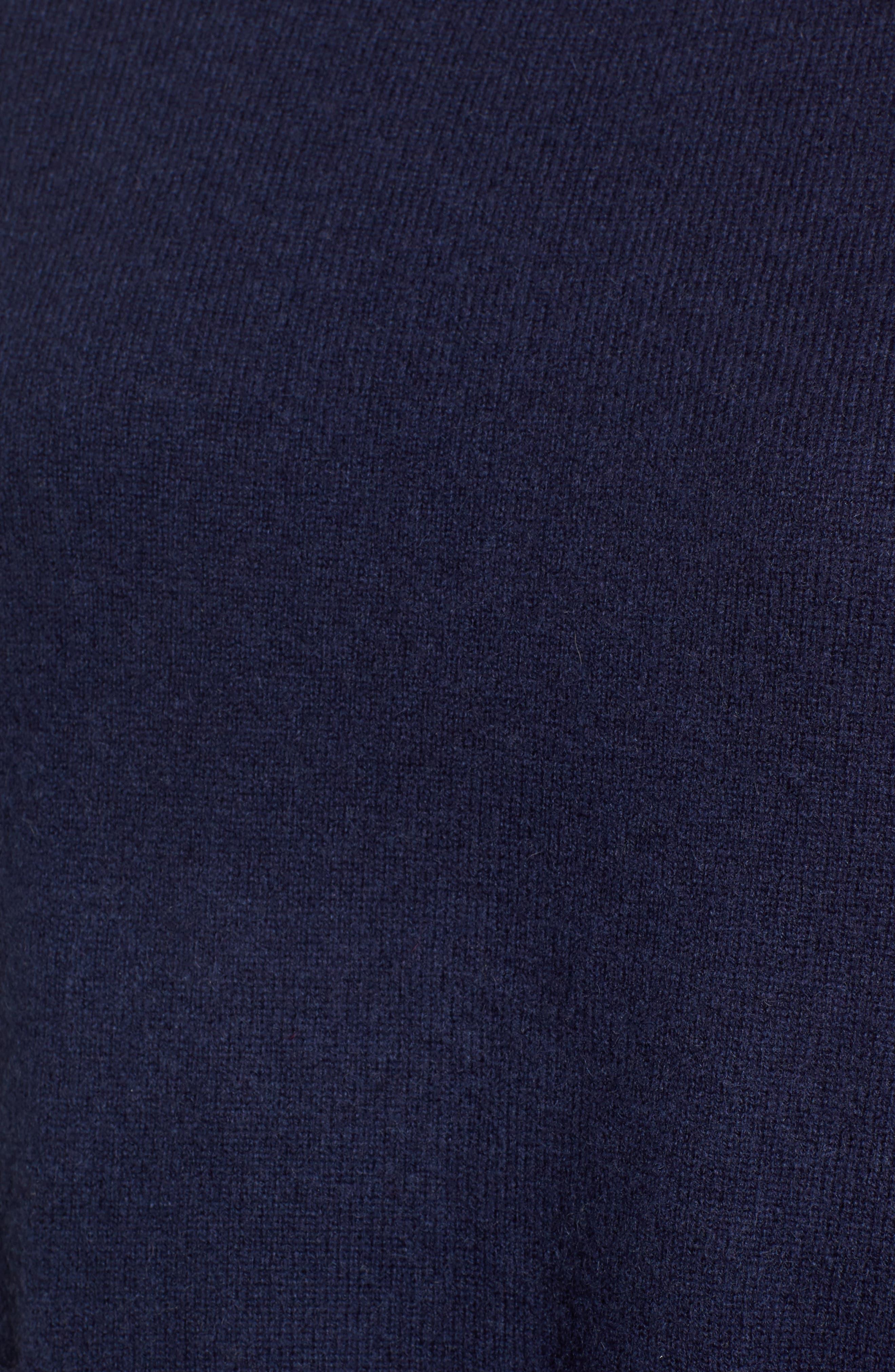 Button Detail Cashmere Sweater,                             Alternate thumbnail 10, color,