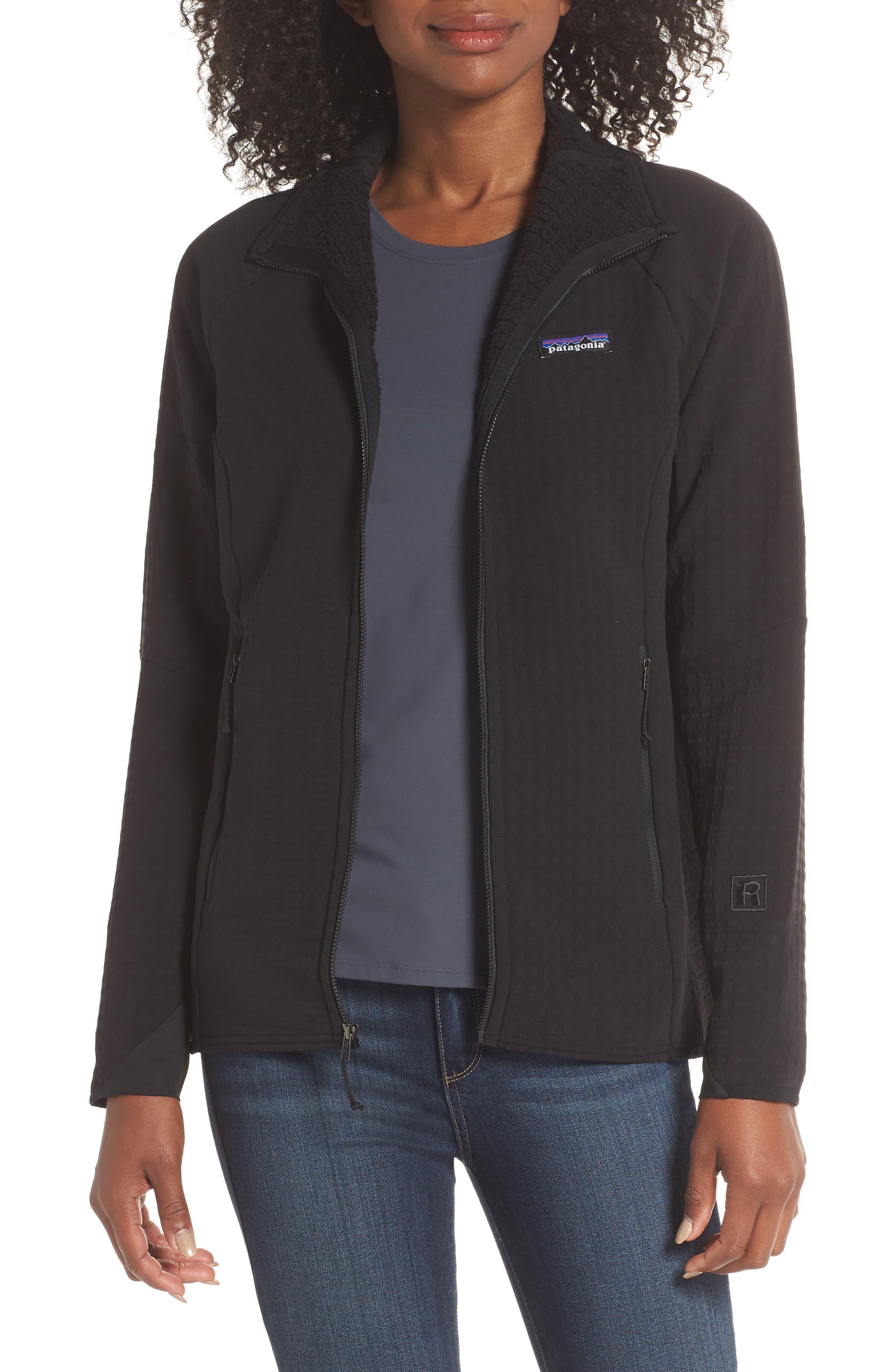 R2<sup>®</sup> TechFace Jacket,                         Main,                         color, BLACK