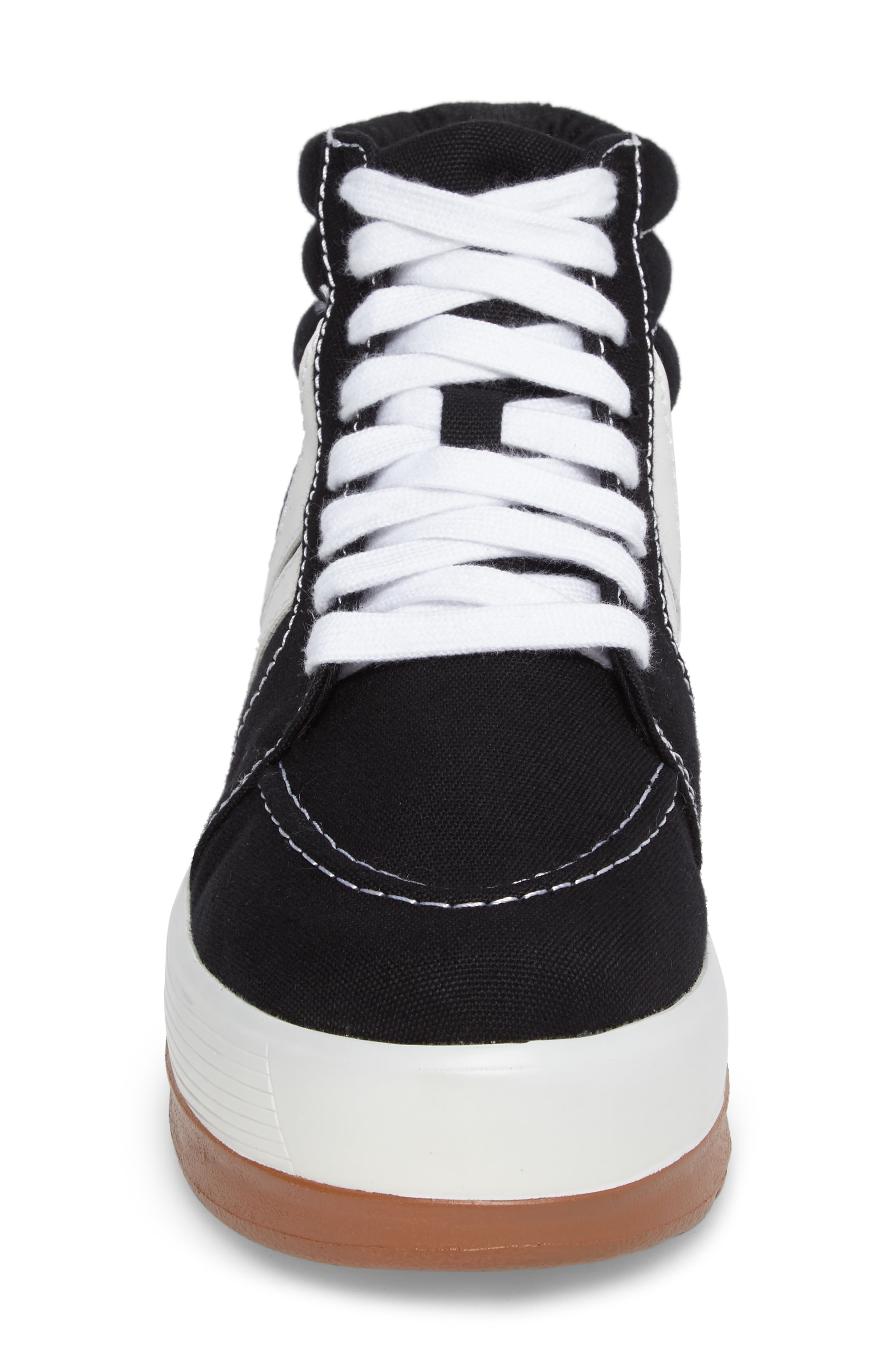 Grind High Top Sneaker,                             Alternate thumbnail 4, color,                             001