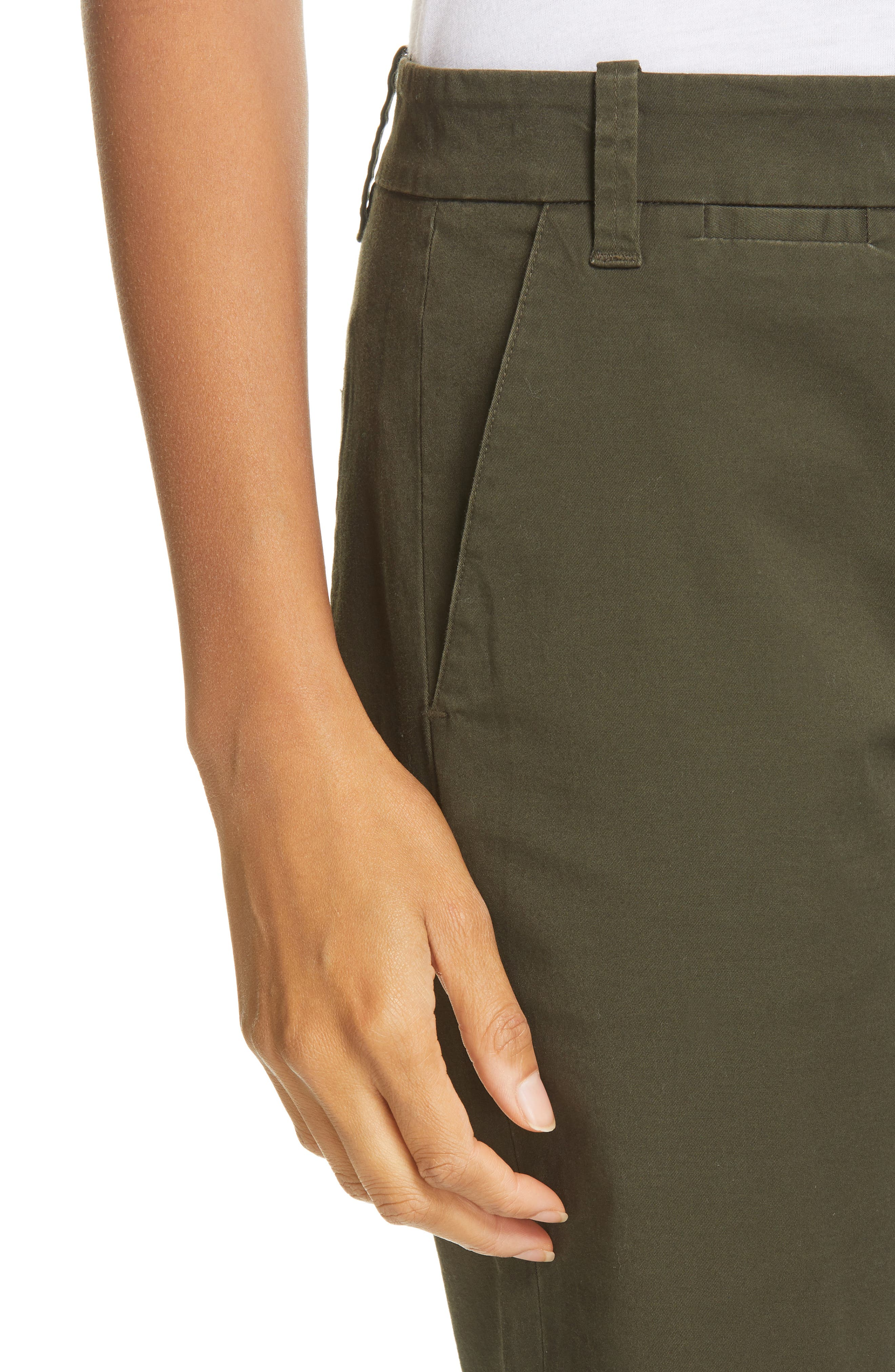 VINCE,                             Bermuda Shorts,                             Alternate thumbnail 4, color,                             ALPINE