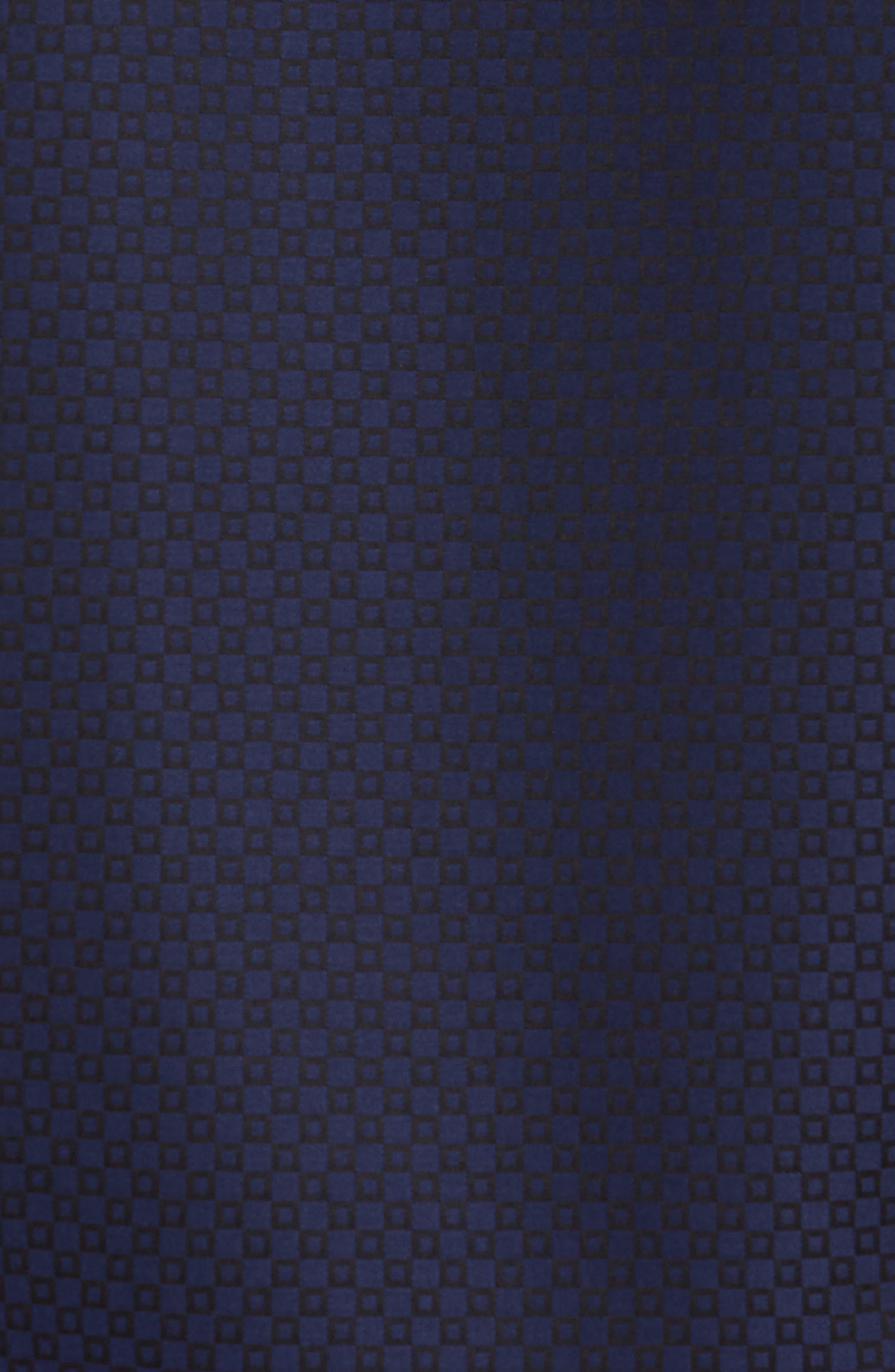 Woven Sport Shirt,                             Alternate thumbnail 5, color,                             MIDNIGHT