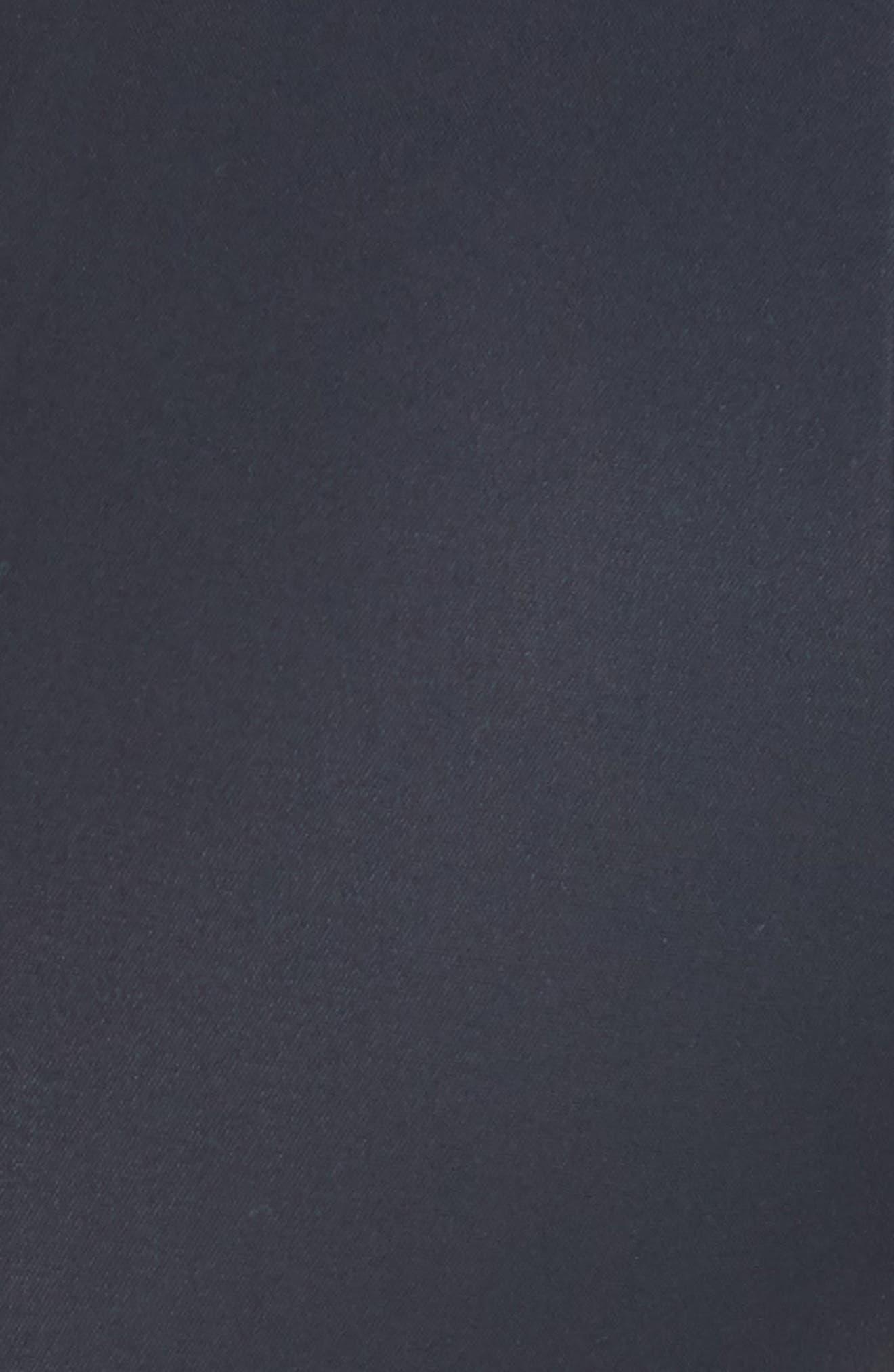 'Melissa' Slim Techno Cotton Ankle Pants,                             Alternate thumbnail 6, color,                             NAVY