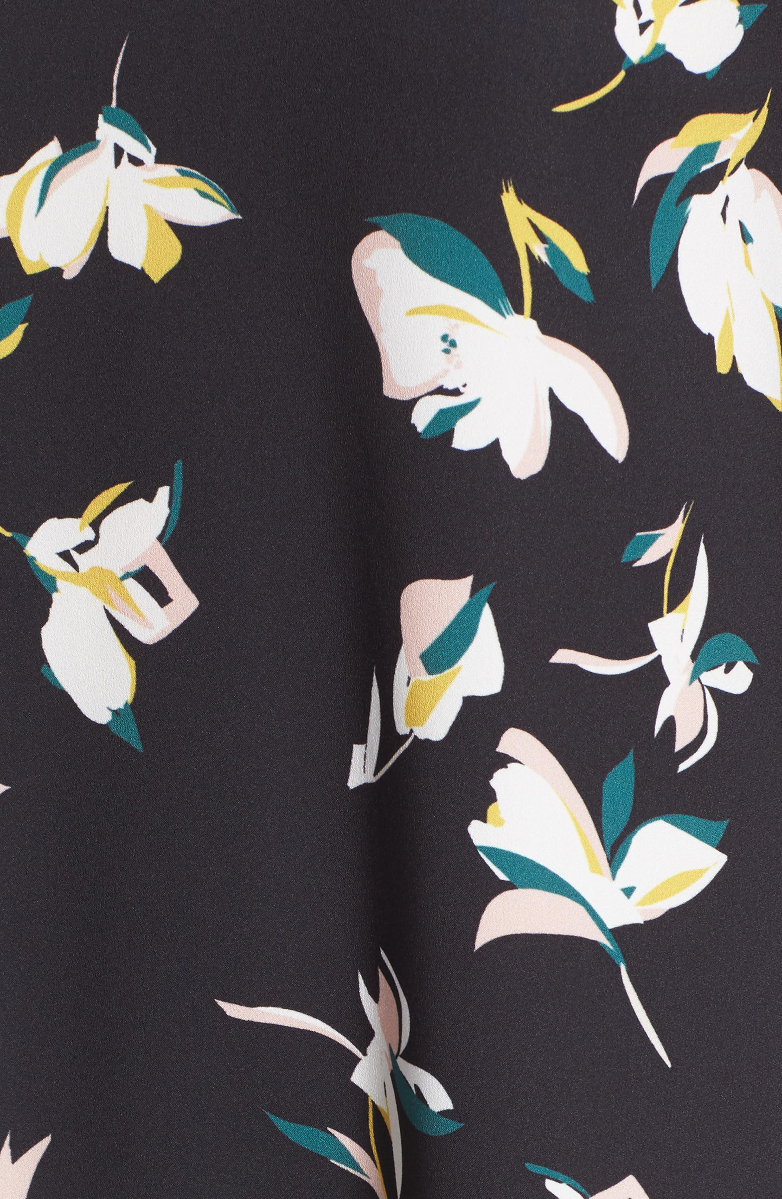 Button Back Ruffle Hem Dress,                             Alternate thumbnail 50, color,