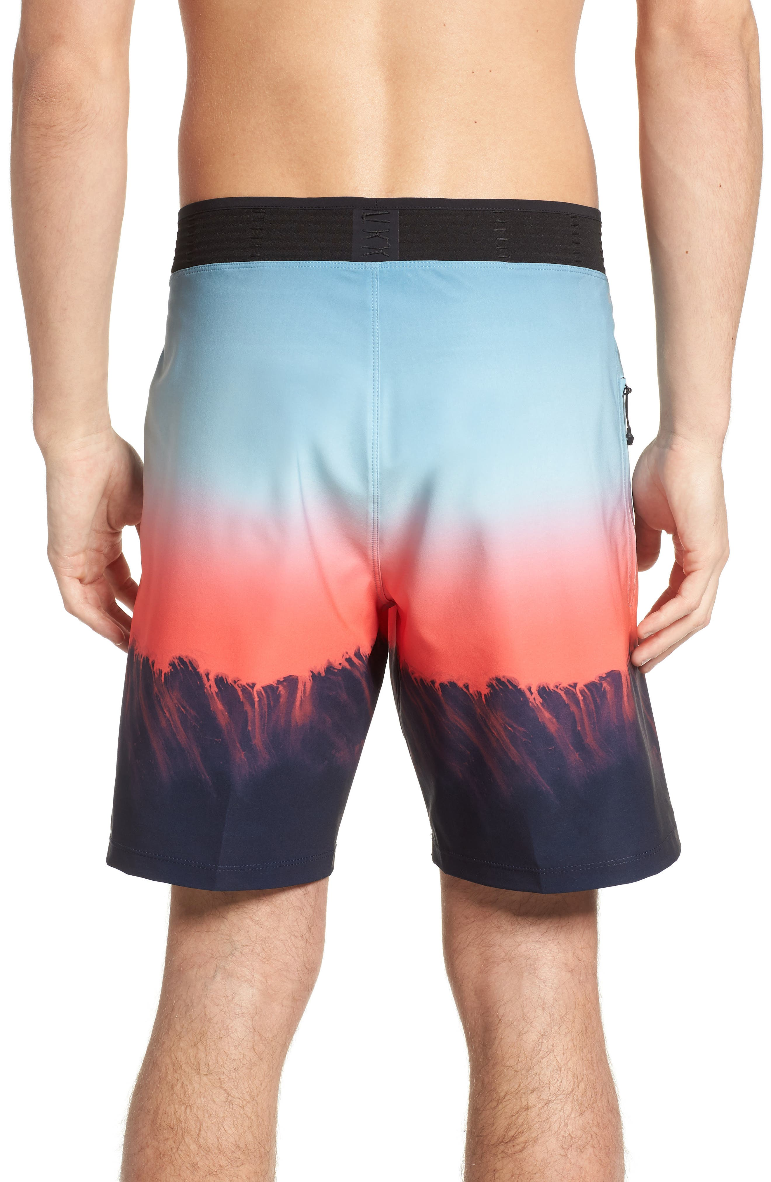 Phantom Hyperweave 3.0 Estuary Board Shorts,                             Alternate thumbnail 2, color,                             OBSIDIAN