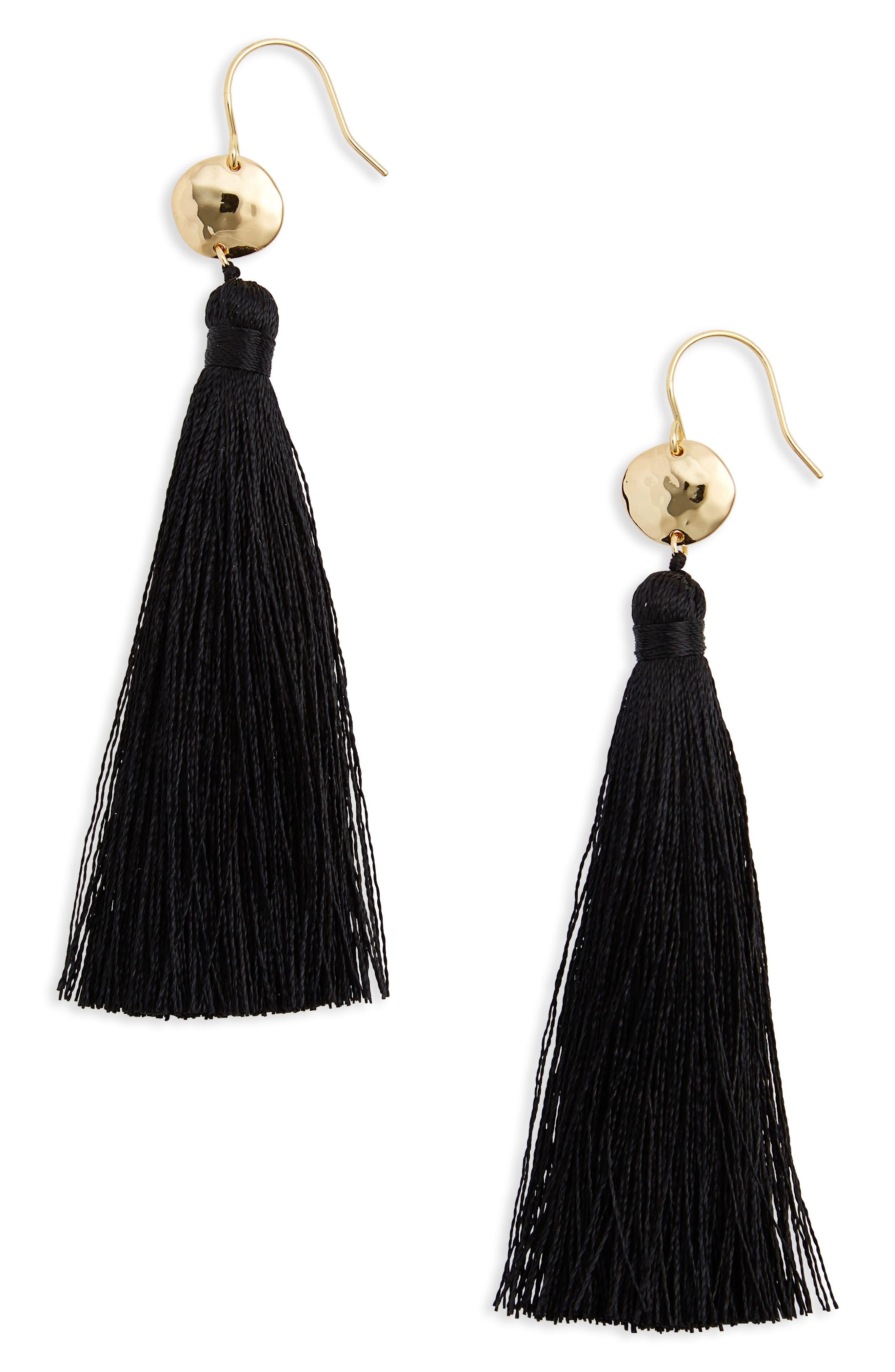 Leucadia Tassel Drop Earrings,                             Main thumbnail 1, color,                             005