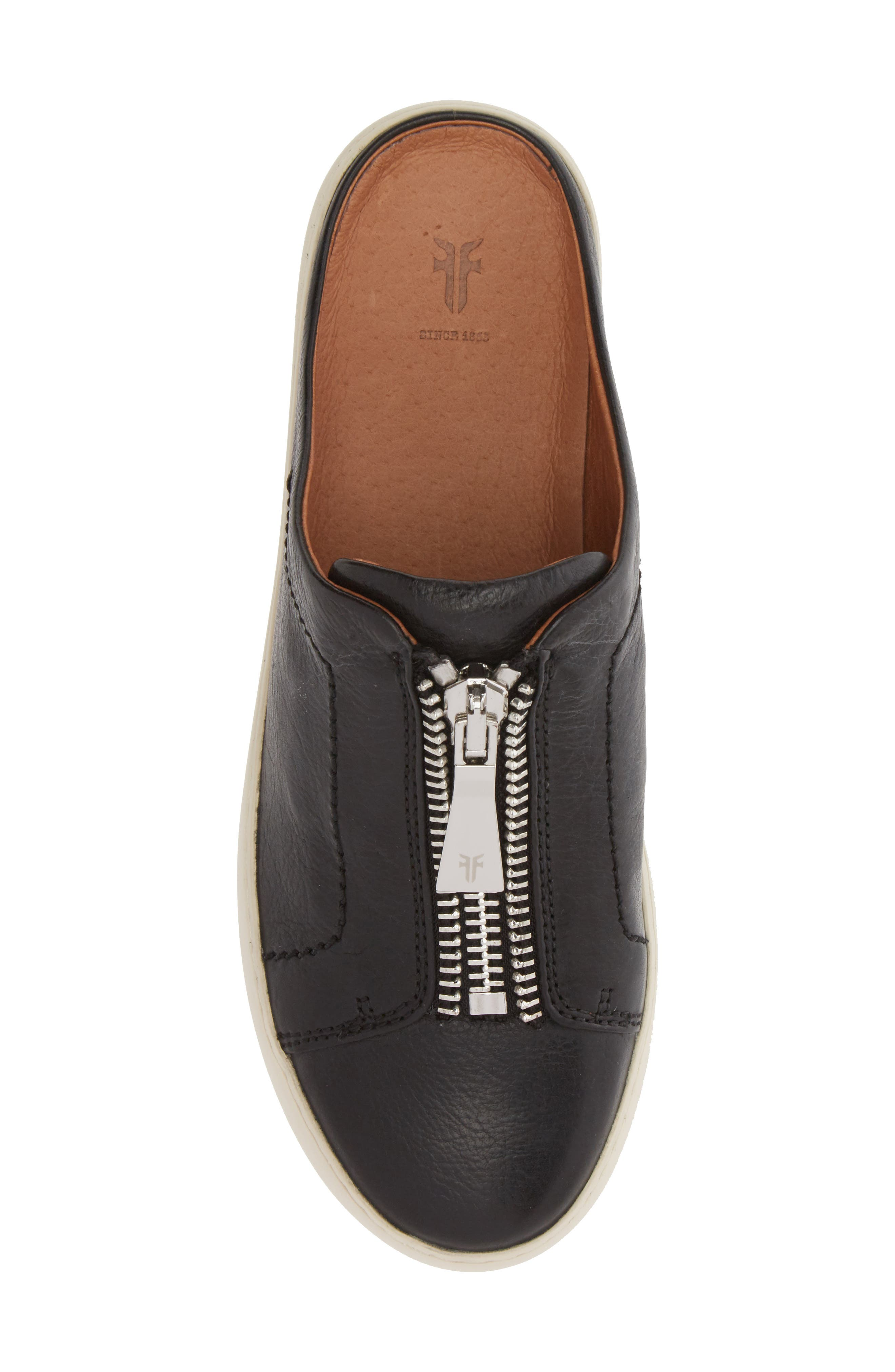Lena Platform Sneaker Mule,                             Alternate thumbnail 5, color,                             001