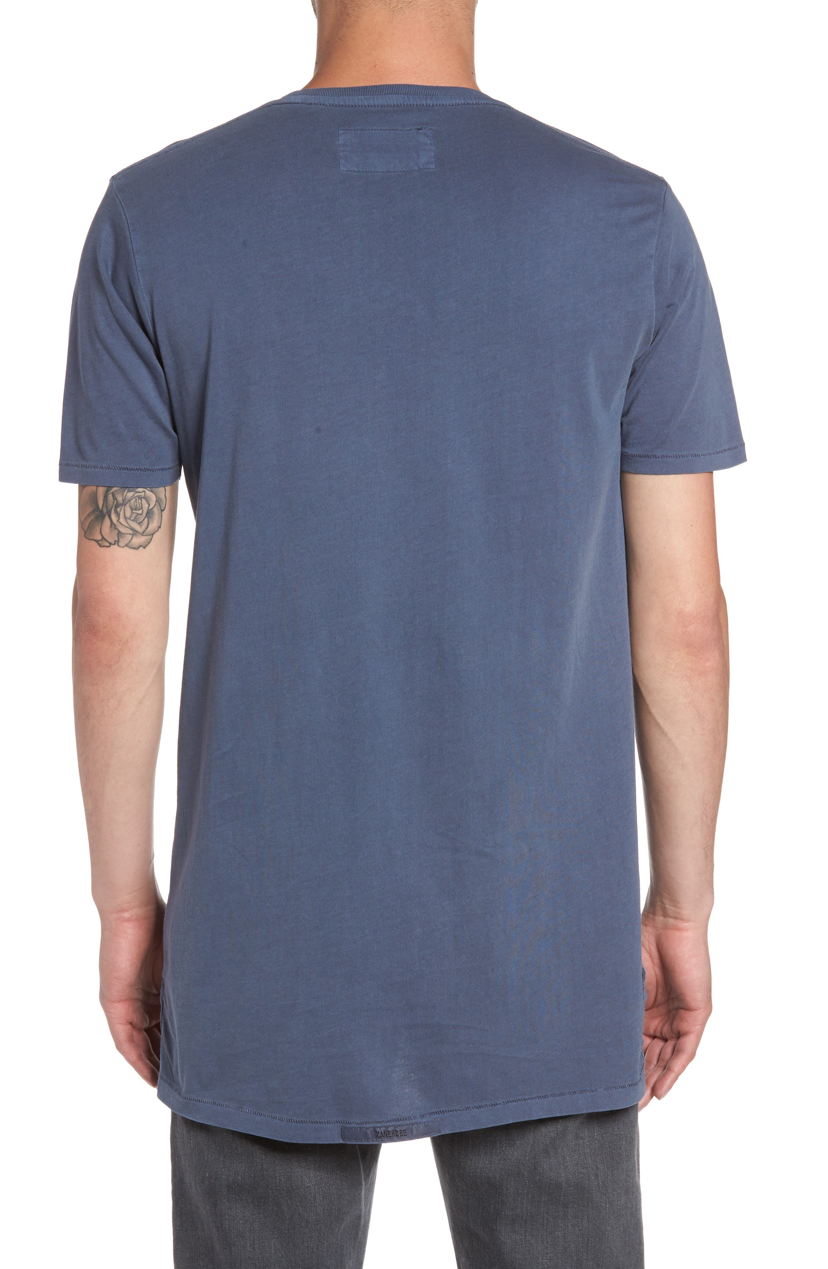 Flintlock Stripe T-Shirt,                             Alternate thumbnail 2, color,                             PIGMENT BLUE GREY
