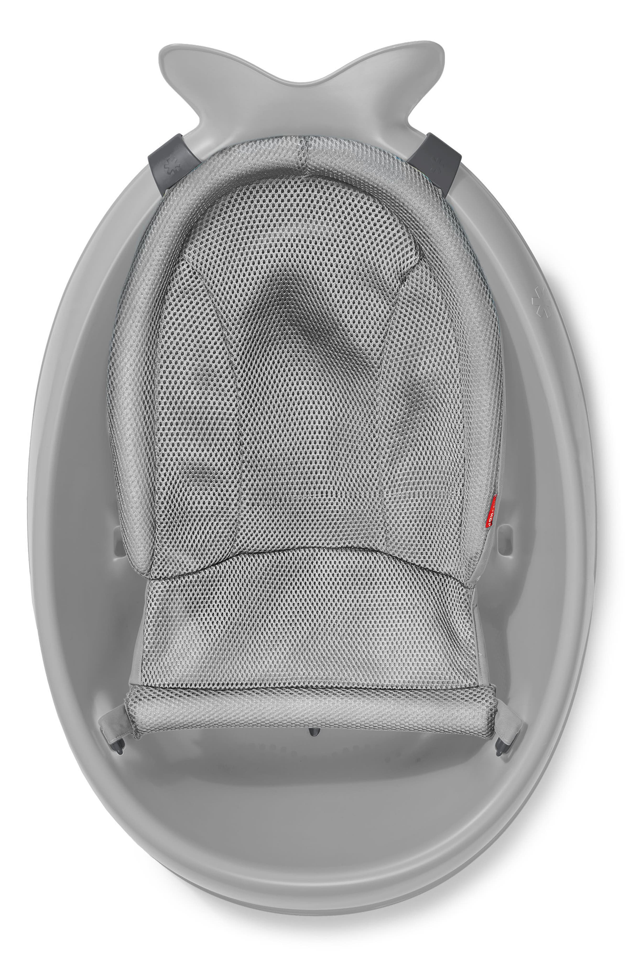 SKIP HOP,                             'Moby Smart Sling' Three-Stage Tub,                             Alternate thumbnail 2, color,                             GREY