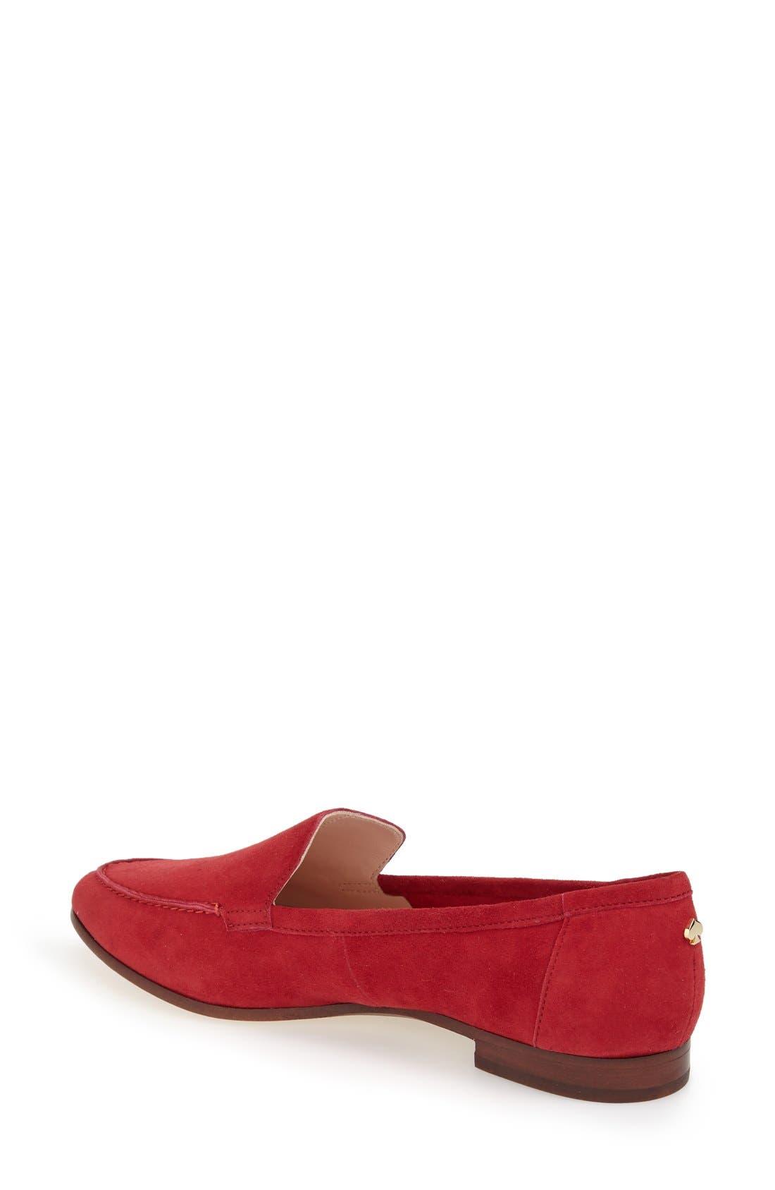 'carima' loafer flat,                             Alternate thumbnail 35, color,