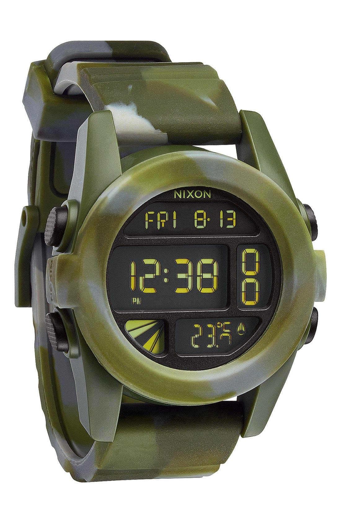 'The Unit' Round Digital Watch, 44mm,                             Alternate thumbnail 44, color,