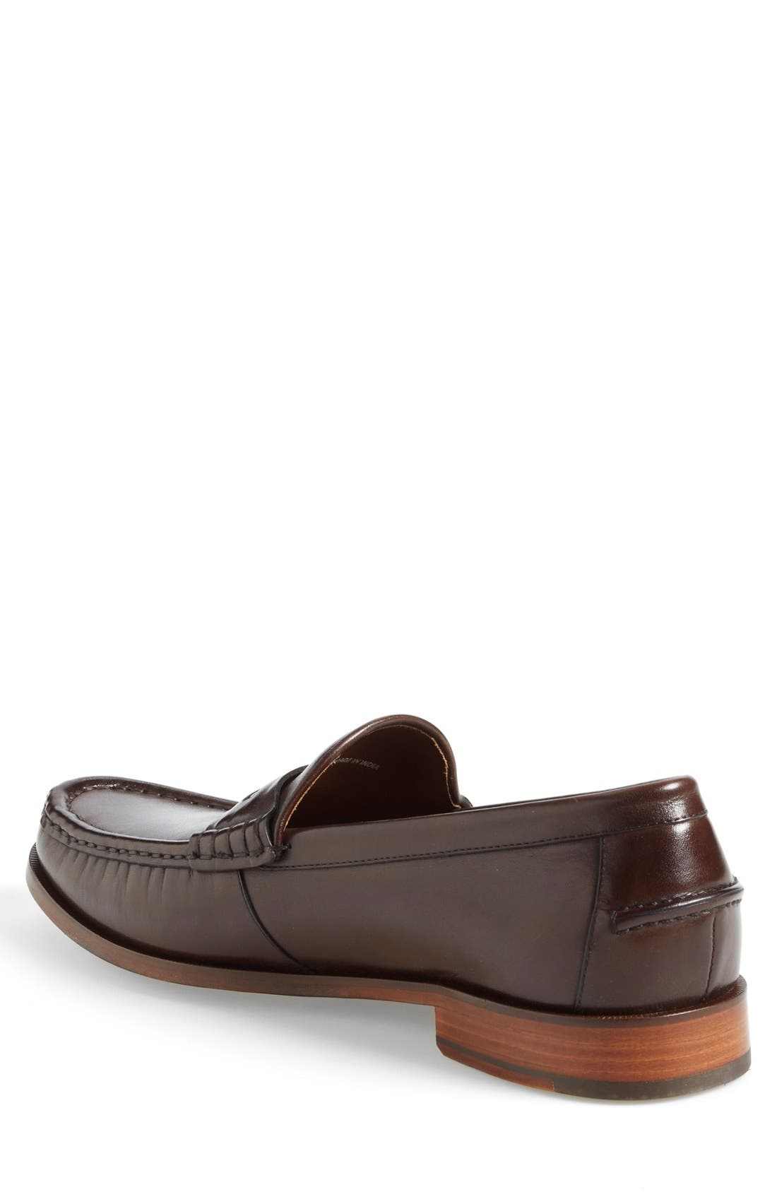 'Pinch Gotham' Penny Loafer,                             Alternate thumbnail 5, color,