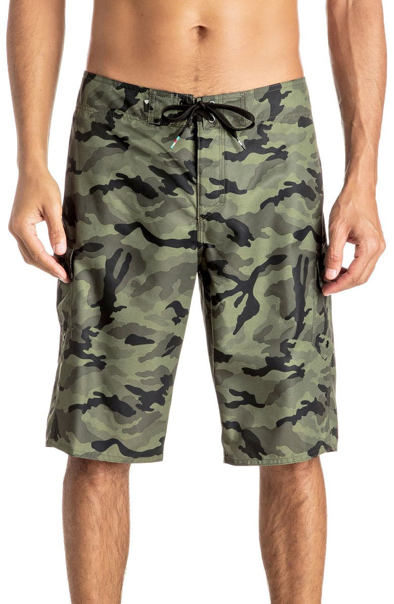 Quiksilver Manic Camo Board Shorts Nordstrom
