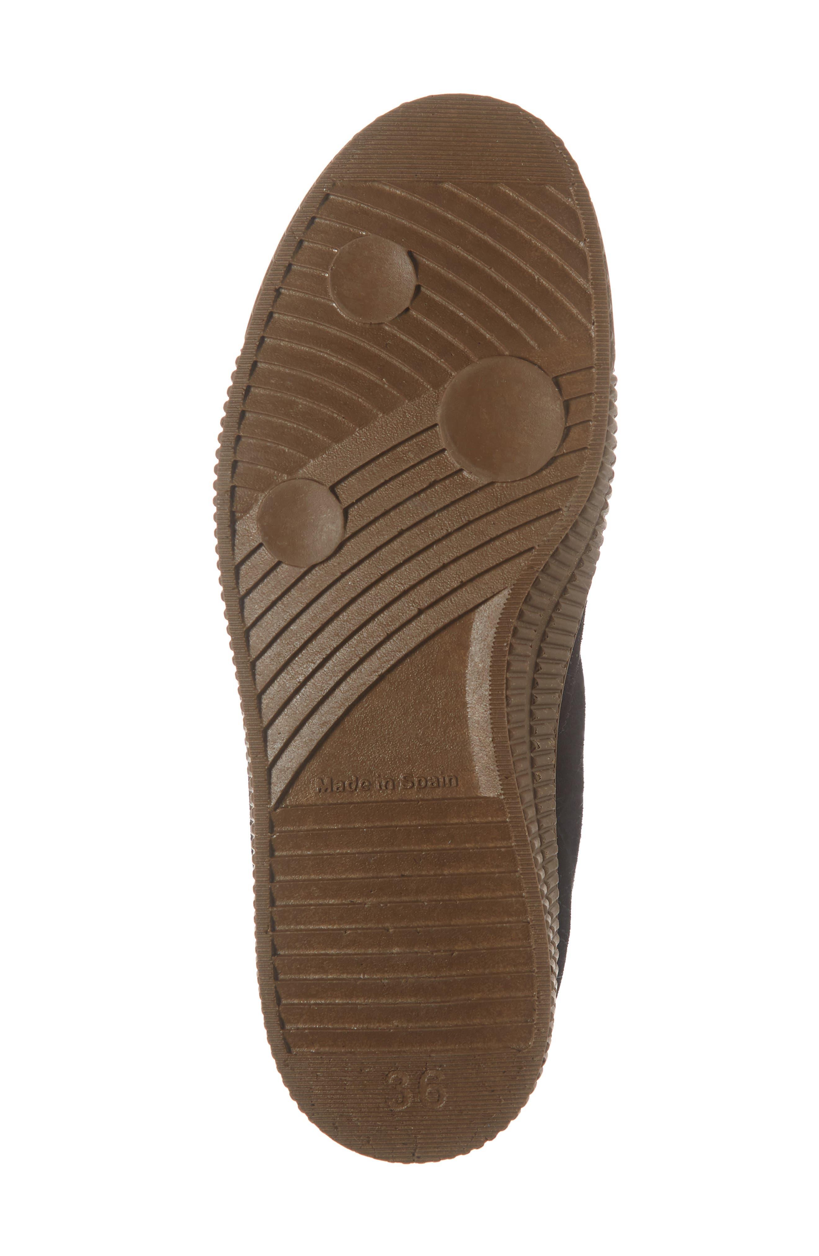 Femp High Top Sneaker,                             Alternate thumbnail 6, color,                             BLACK/ CAMEL SUEDE