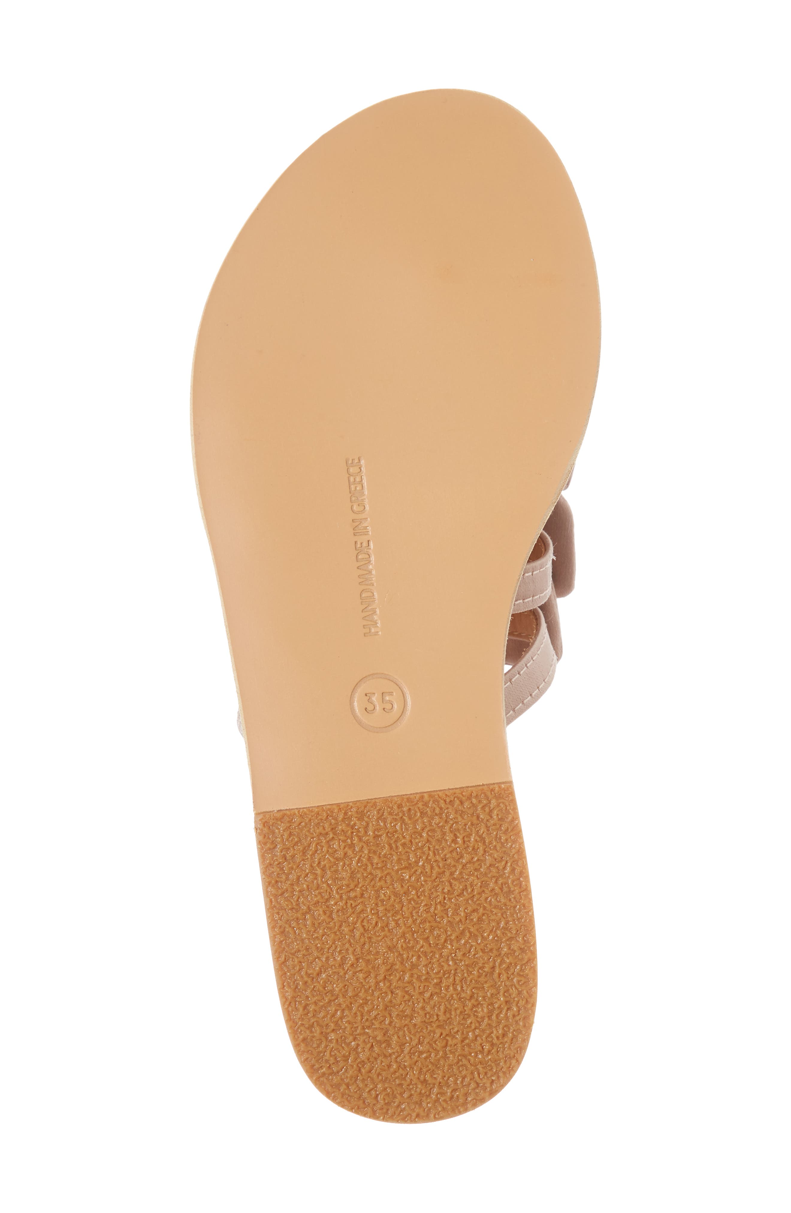 Hara Toe Loop Slide Sandal,                             Alternate thumbnail 6, color,                             650