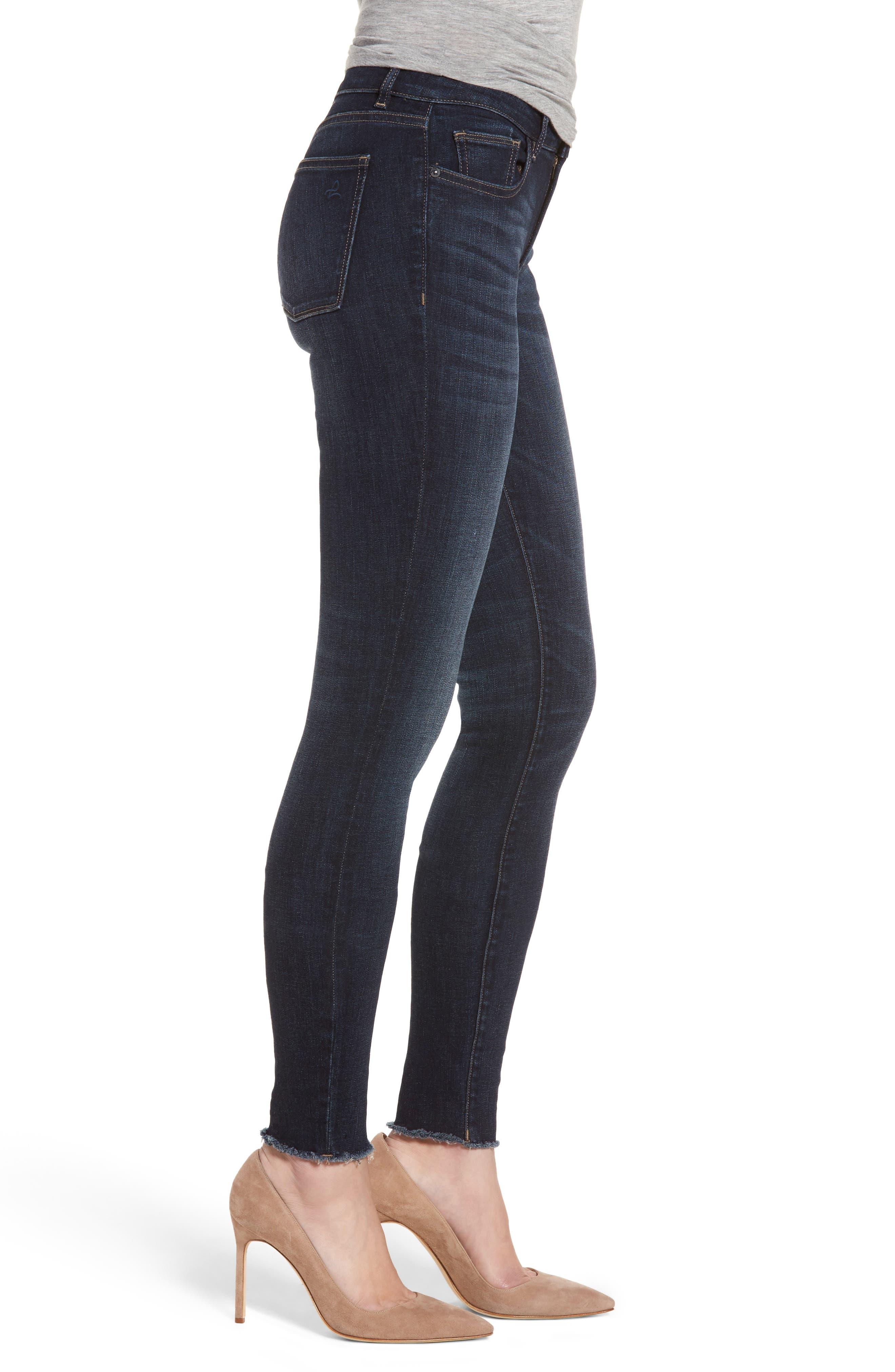 Danny Instasculpt Supermodel Skinny Jeans,                             Alternate thumbnail 3, color,                             405