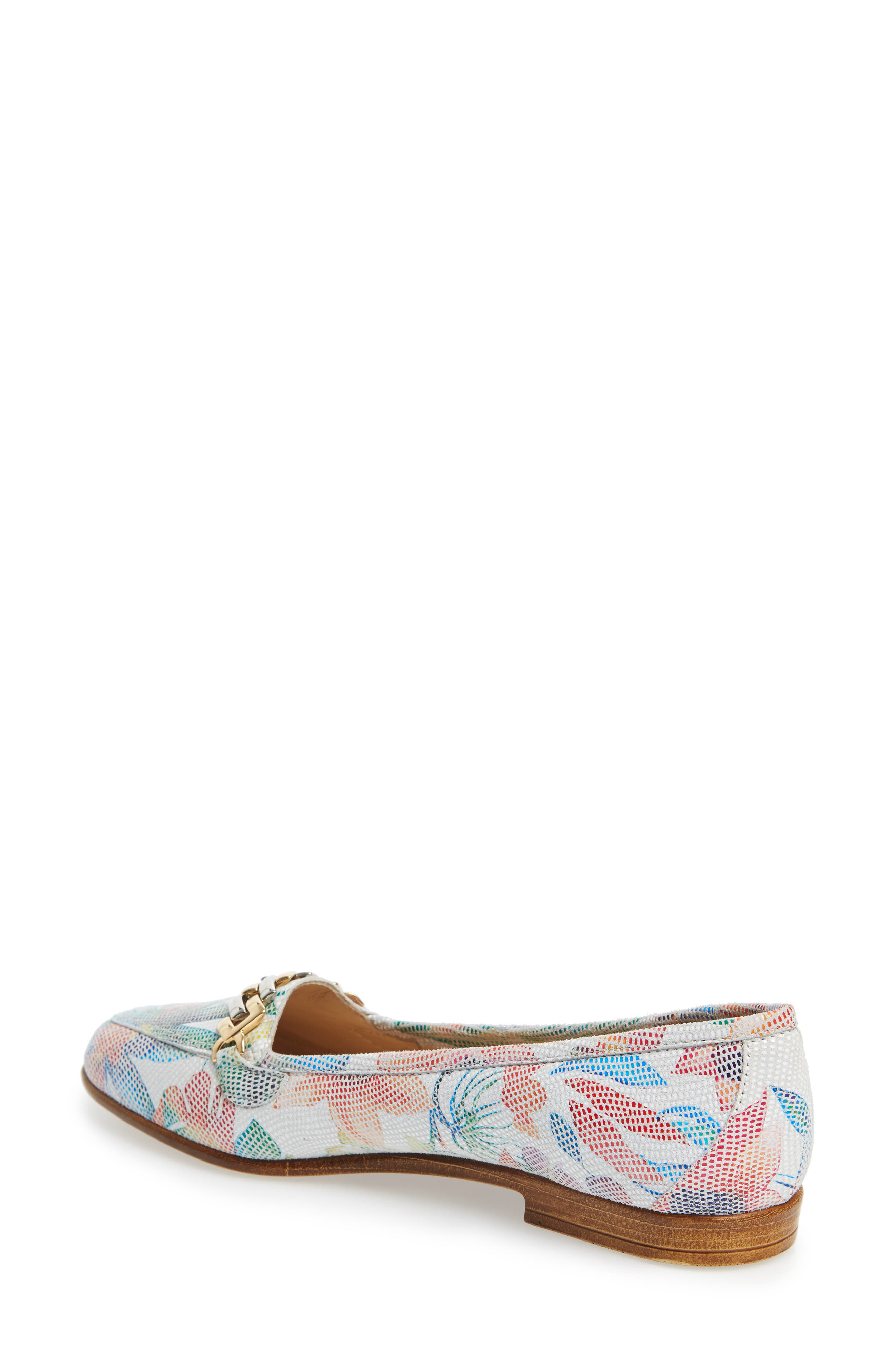 AMALFI BY RANGONI,                             Oste Loafer,                             Alternate thumbnail 2, color,                             WHITE LEATHER