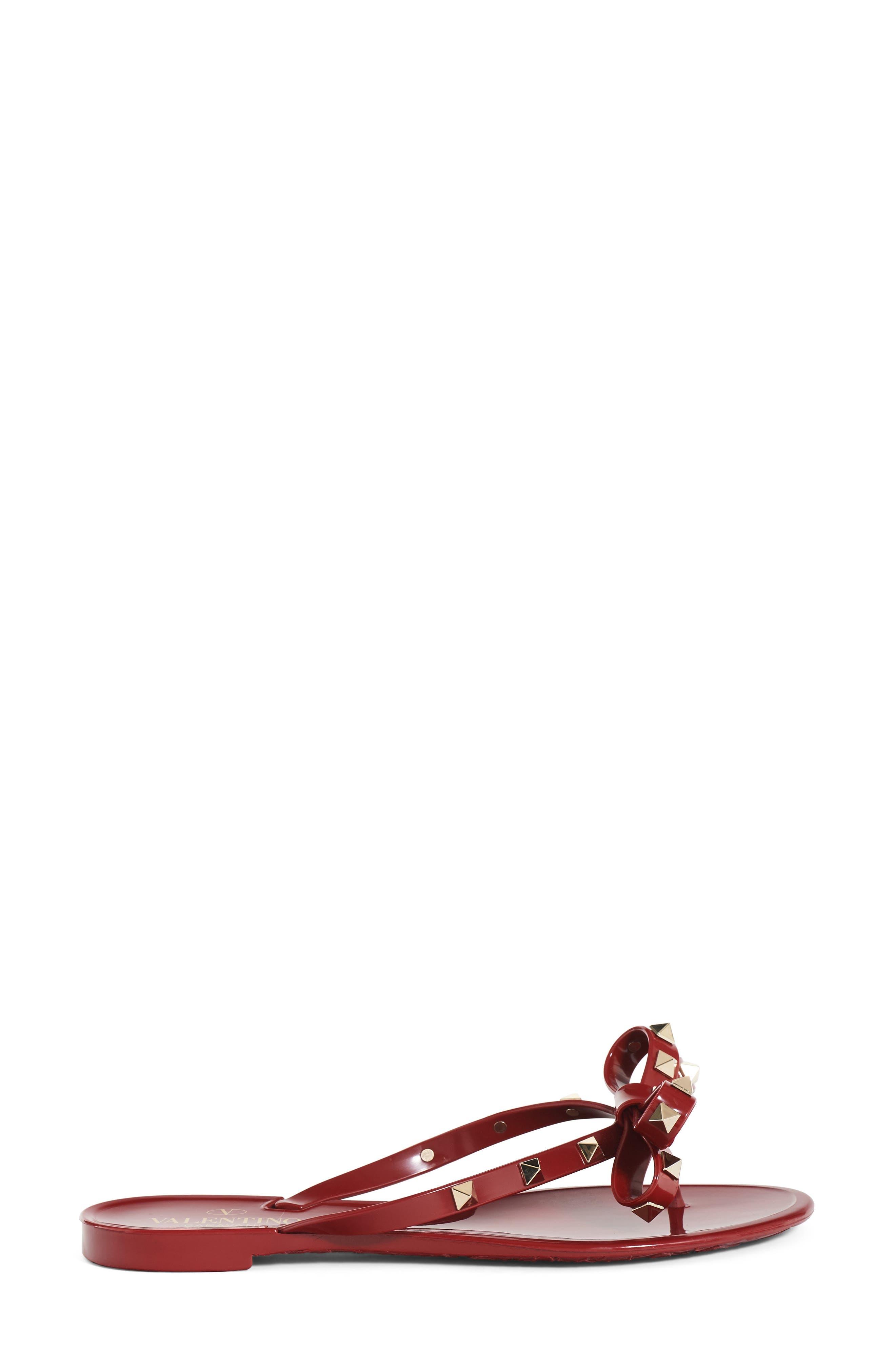 'Rockstud' Flip Flop,                             Alternate thumbnail 85, color,