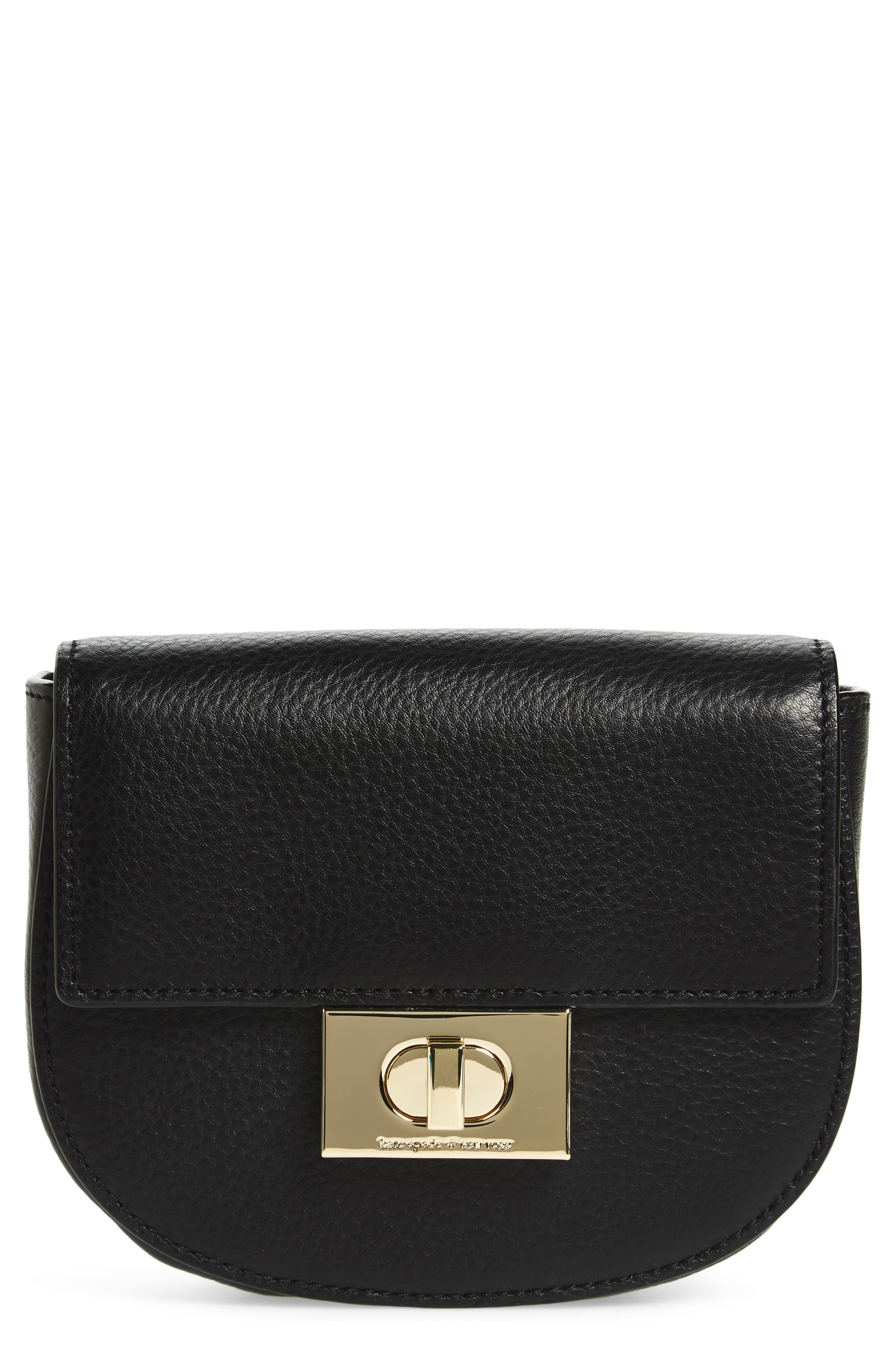 greenwood place rita leather belt bag,                         Main,                         color, 001